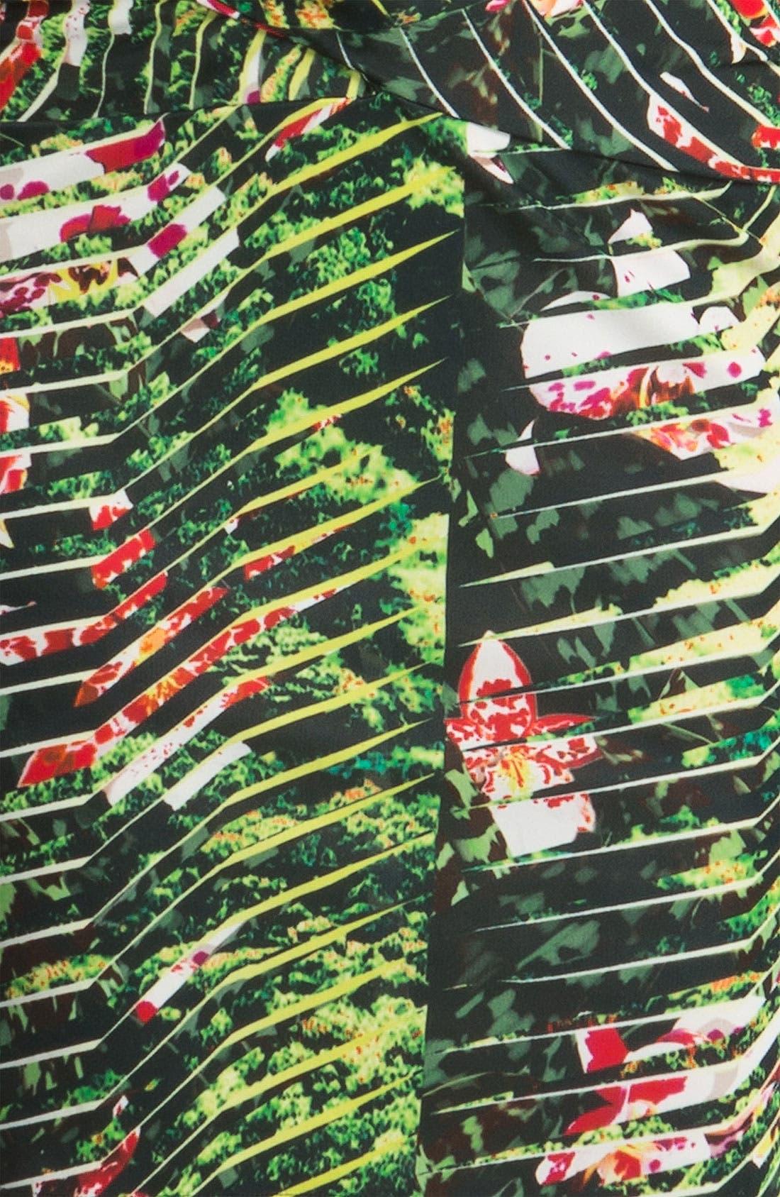 Alternate Image 3  - KENZO Orchid Print Dress