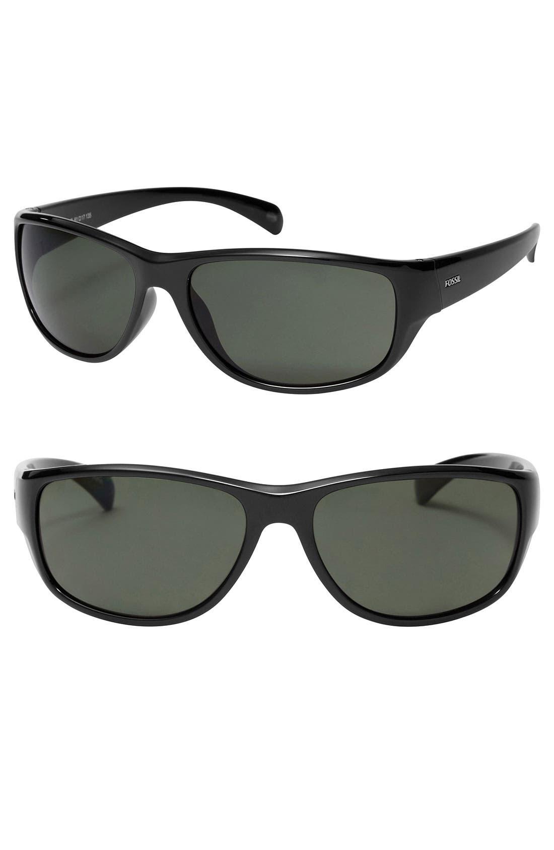 Alternate Image 1 Selected - Fossil 'Blake' 61mm Sunglasses