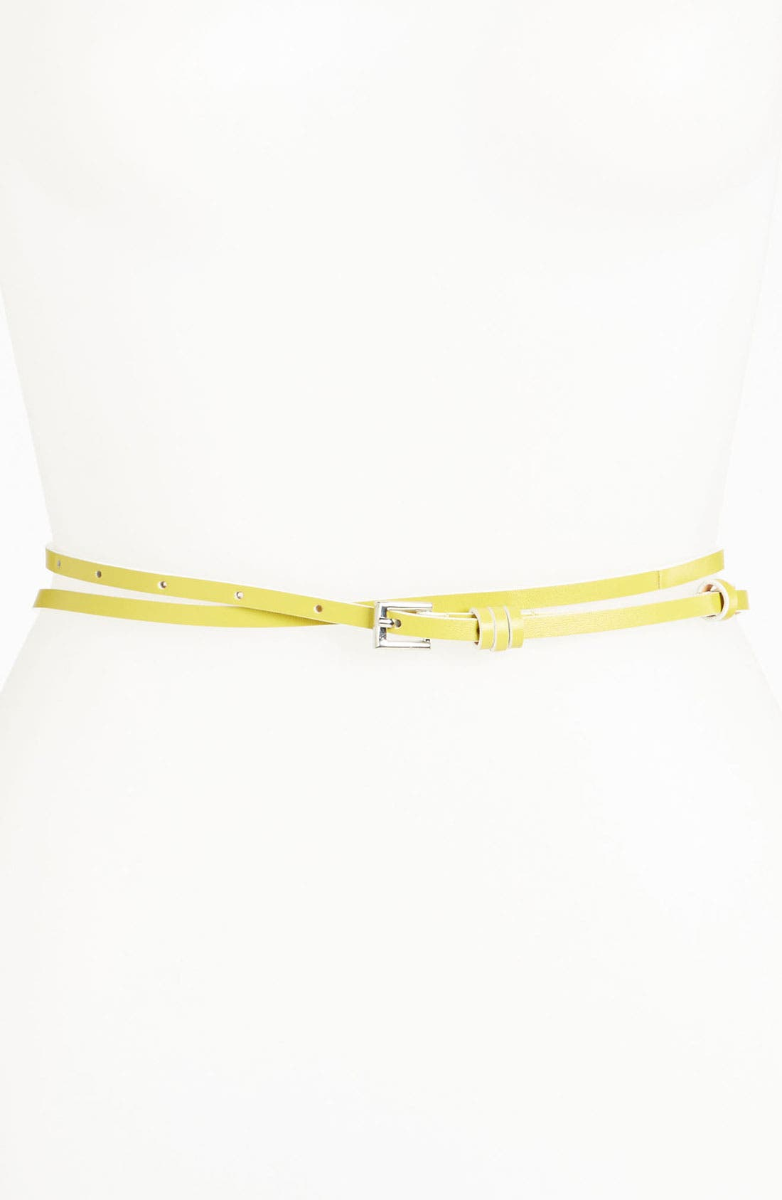 Alternate Image 1 Selected - Lafayette 148 New York Double Wrap Belt (Online Exclusive)