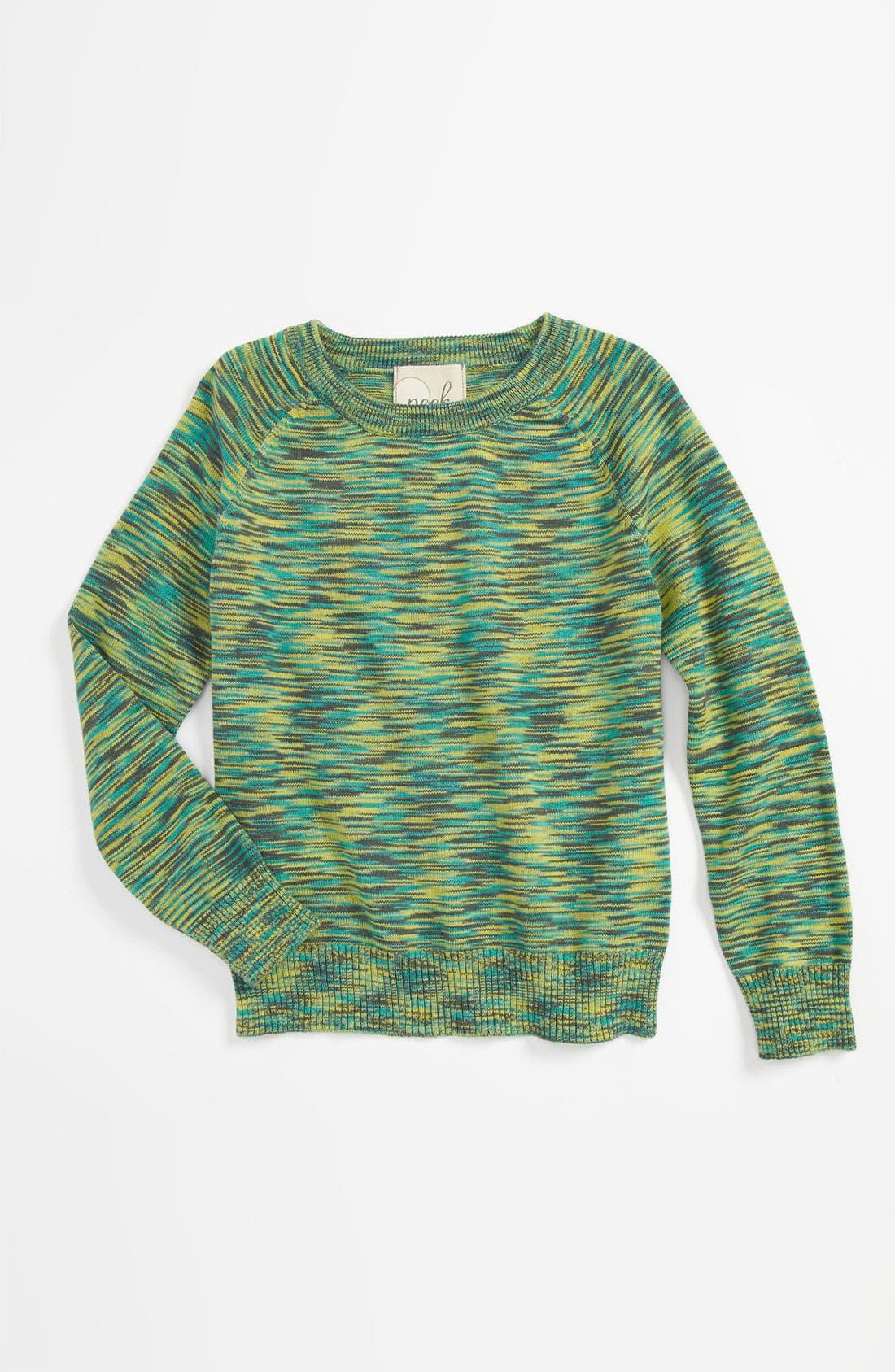 Alternate Image 1 Selected - Peek 'Susana' Crewneck Sweater (Toddler, Little Girls & Big Girls)