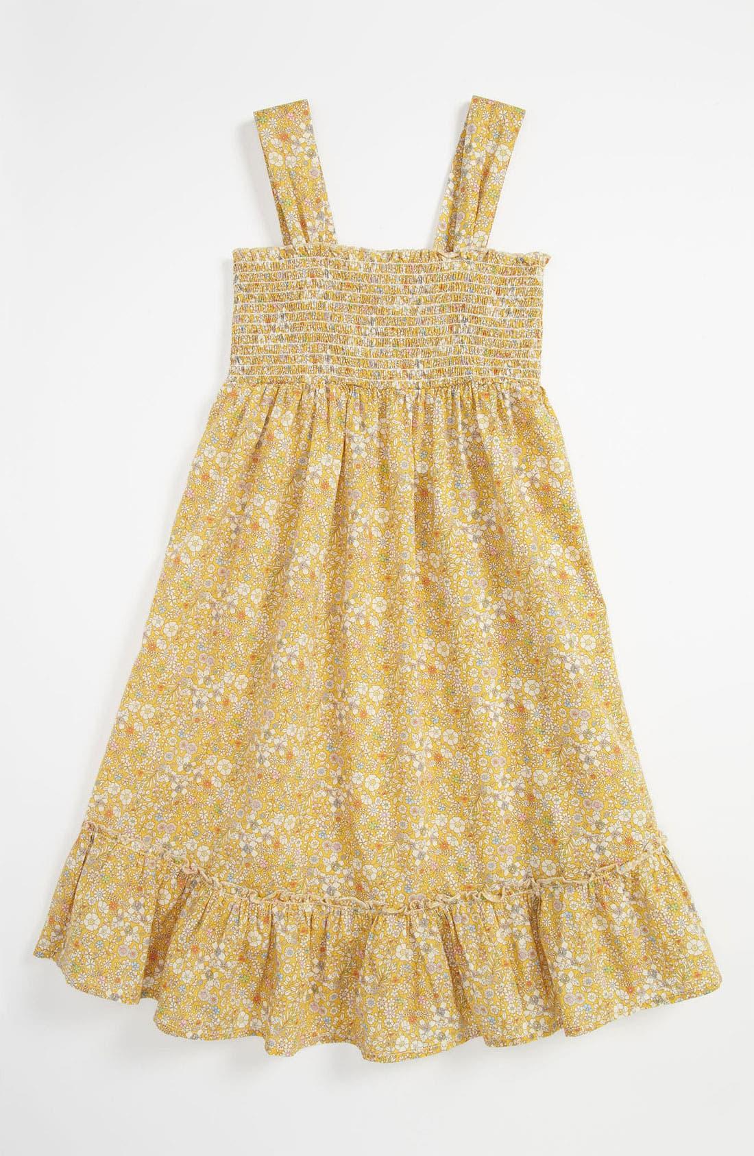 Main Image - Peek 'Daisy' Dress (Big Girls)