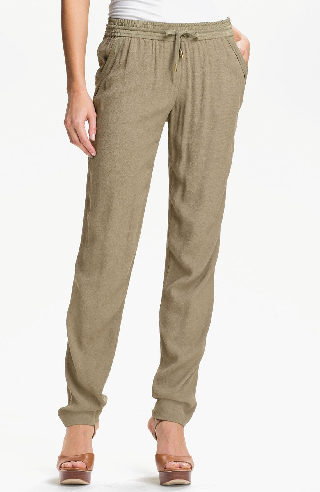 Alternate Image 1 Selected - MICHAEL Michael Kors Drawstring Waist Pants
