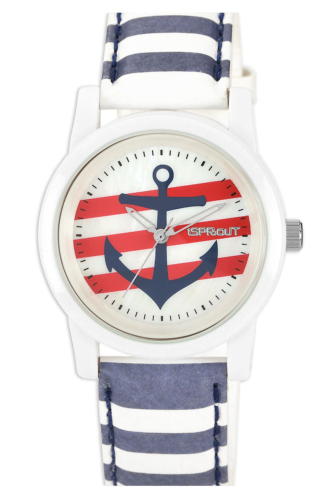 Main Image - SPROUT™ Watches Anchor Dial Watch, 38mm