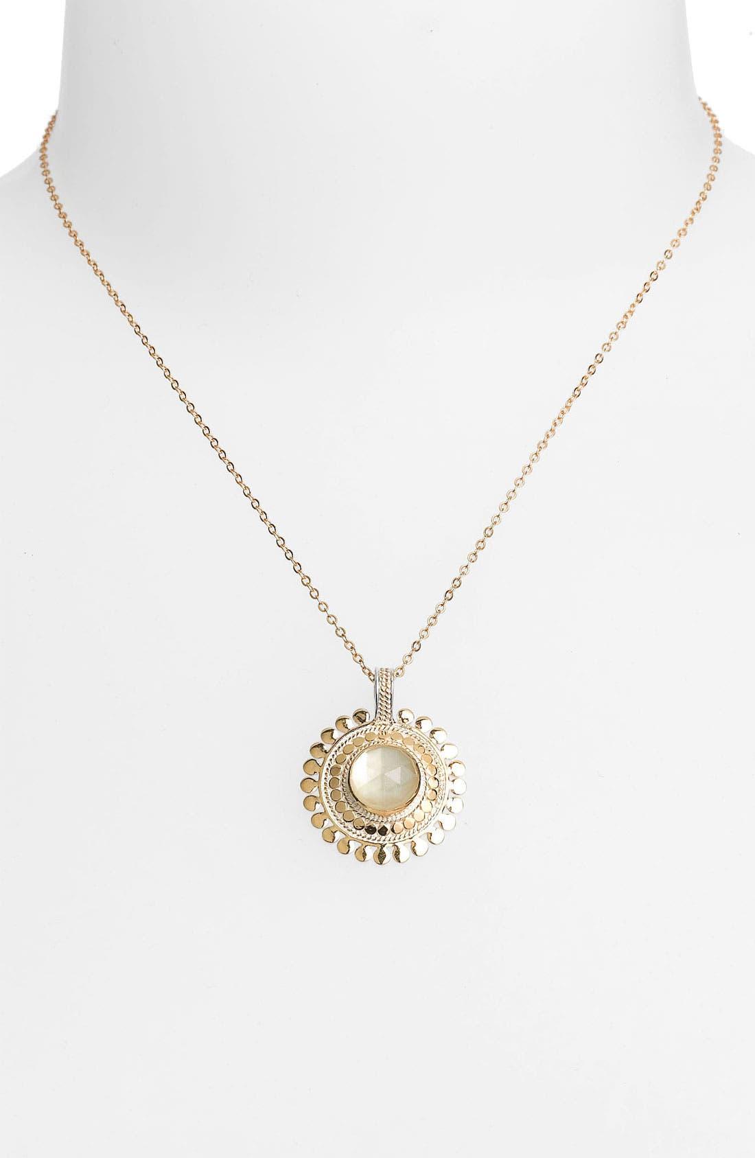 Main Image - Anna Beck 'Flores Citrine' Pendant Necklace