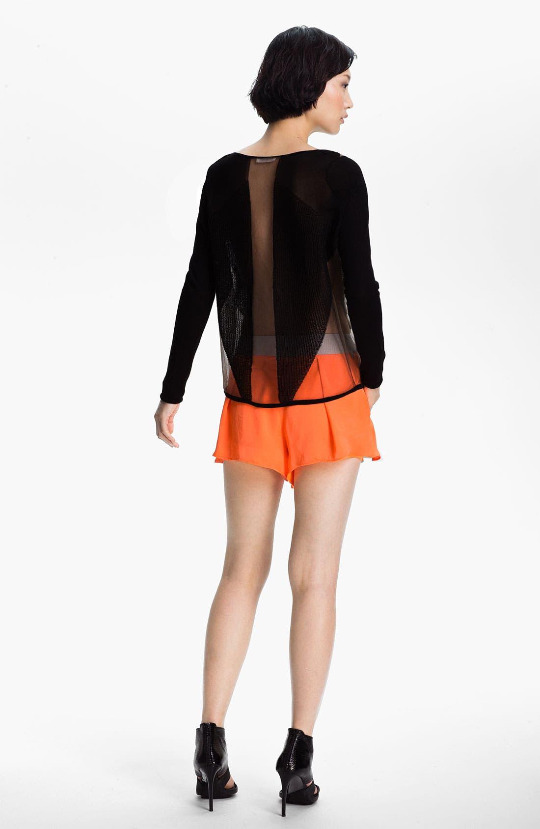 Alternate Image 4  - Helmut Lang 'Chroma' Wide Leg Shorts