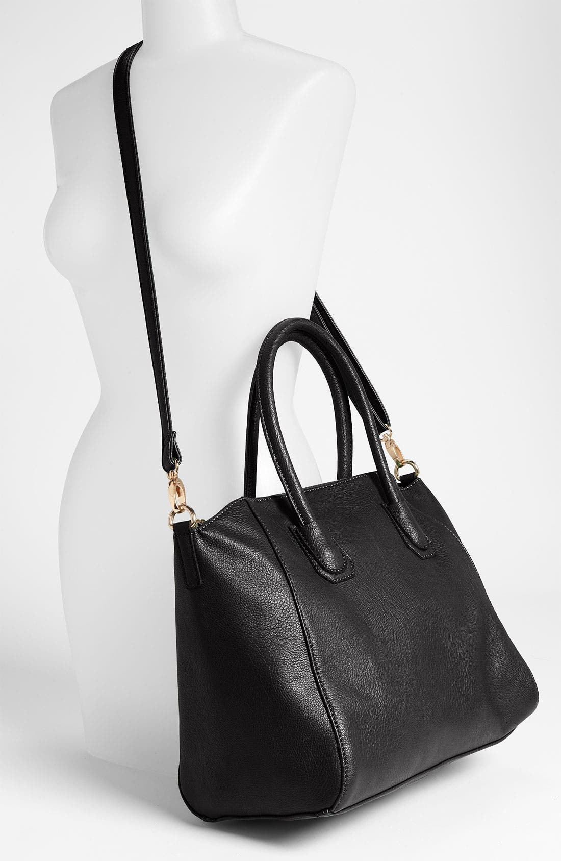 Alternate Image 2  - Street Level Faux Leather Satchel