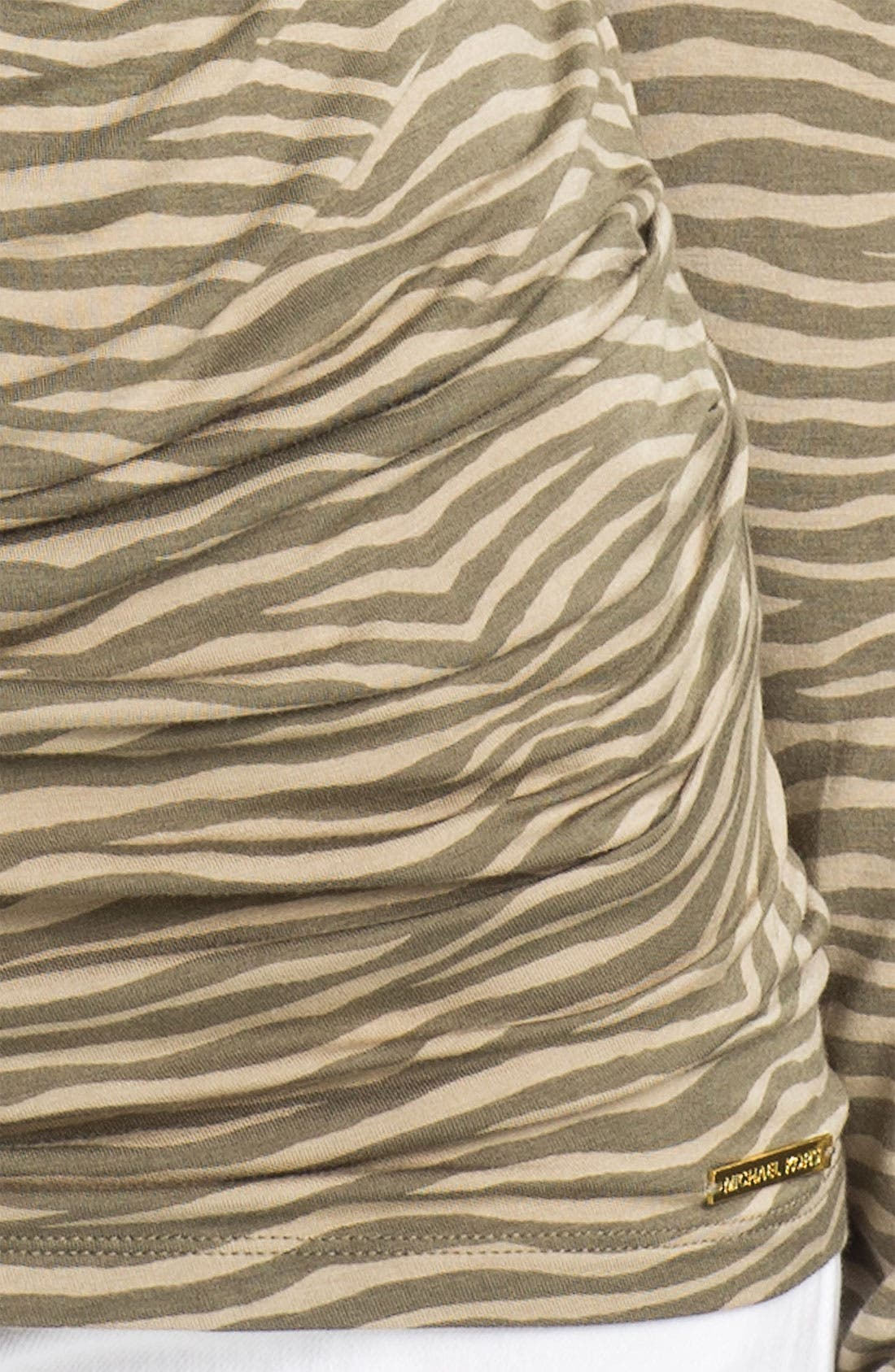 Alternate Image 3  - MICHAEL Michael Kors Animal Print Top