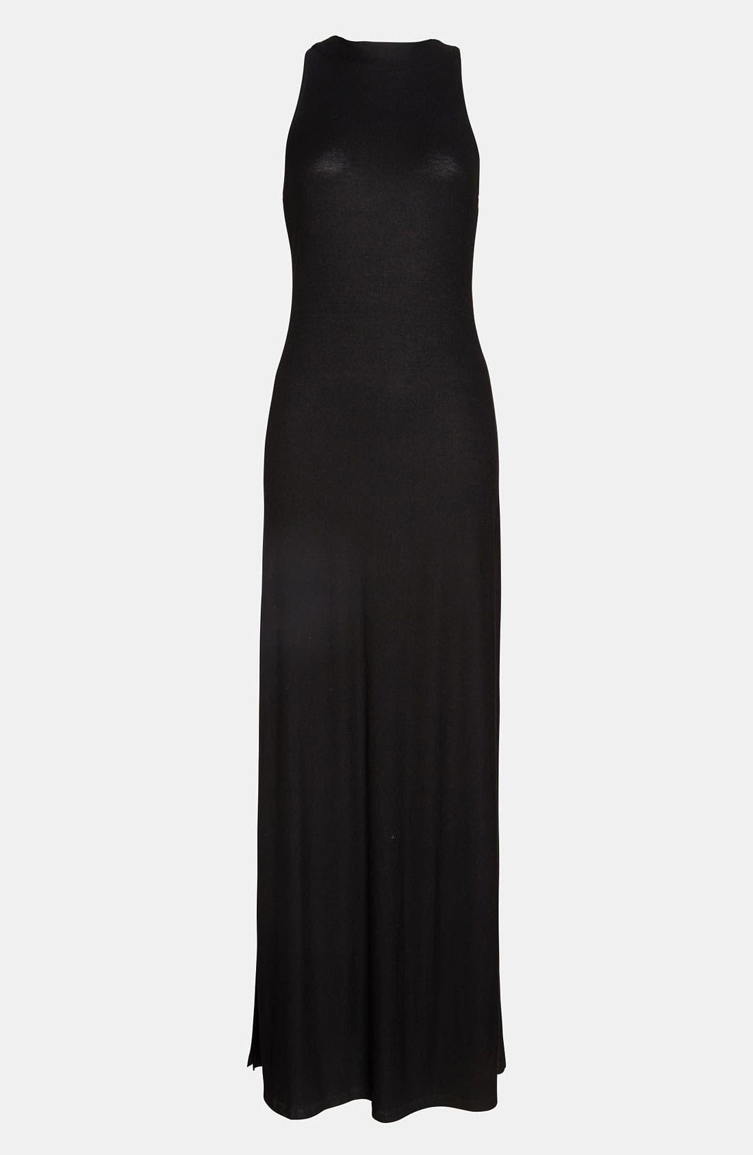 Main Image - ASTR Cutout Back Maxi Dress