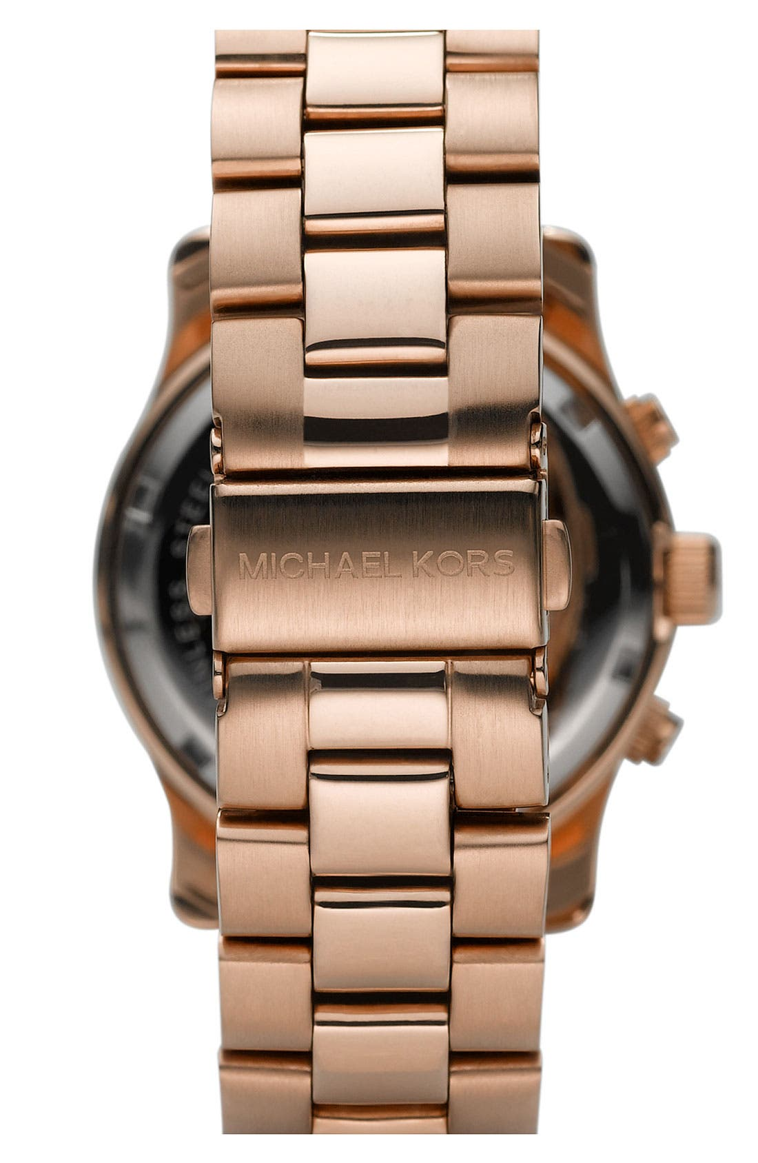Michael Kors 'Blair' Chronograph Watch, 39mm,                             Alternate thumbnail 2, color,                             Rose Gold