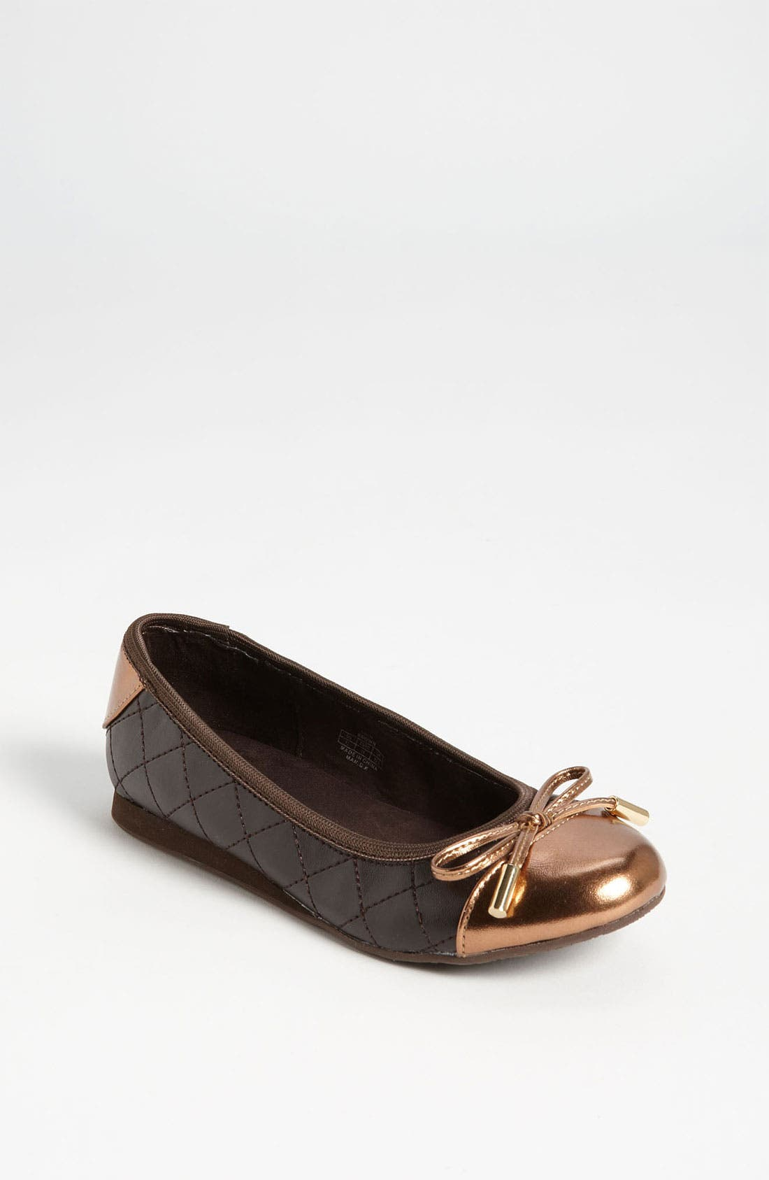Alternate Image 1 Selected - MICHAEL Michael Kors 'Erin' Flat (Little Kid & Big Kid)