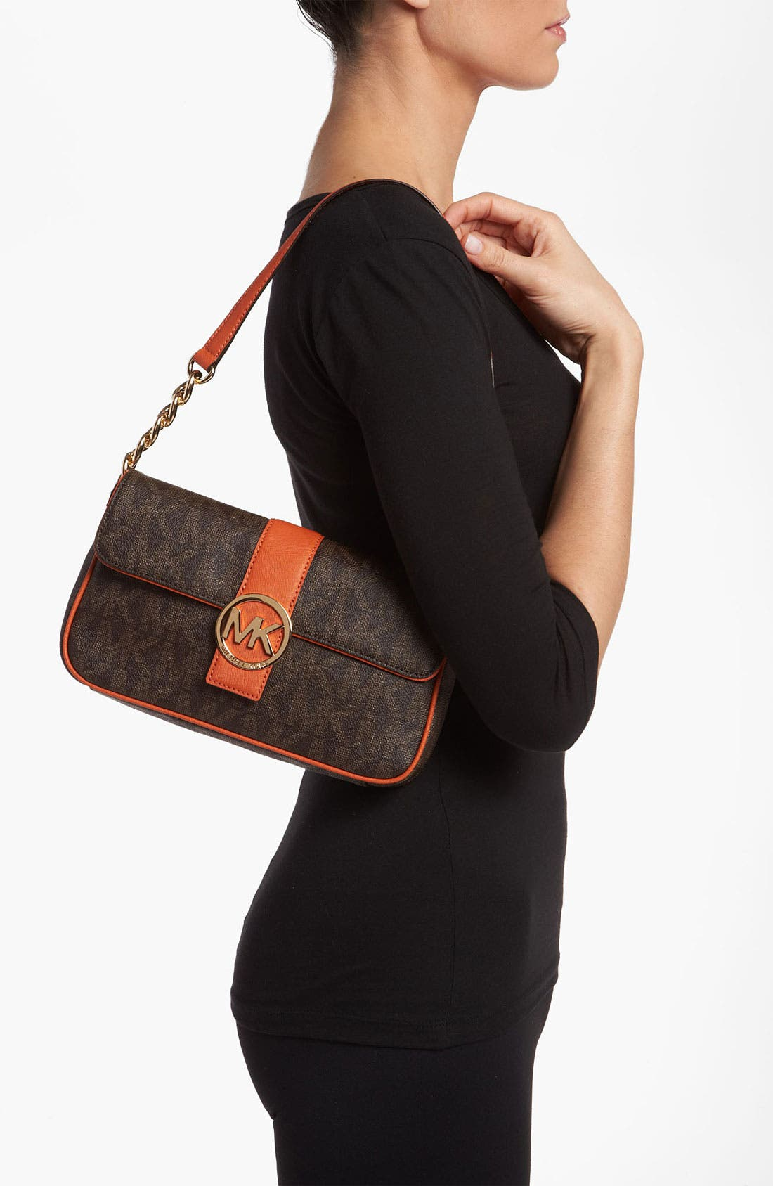 Alternate Image 2  - MICHAEL Michael Kors 'Fulton Signature - Small' Shoulder Bag
