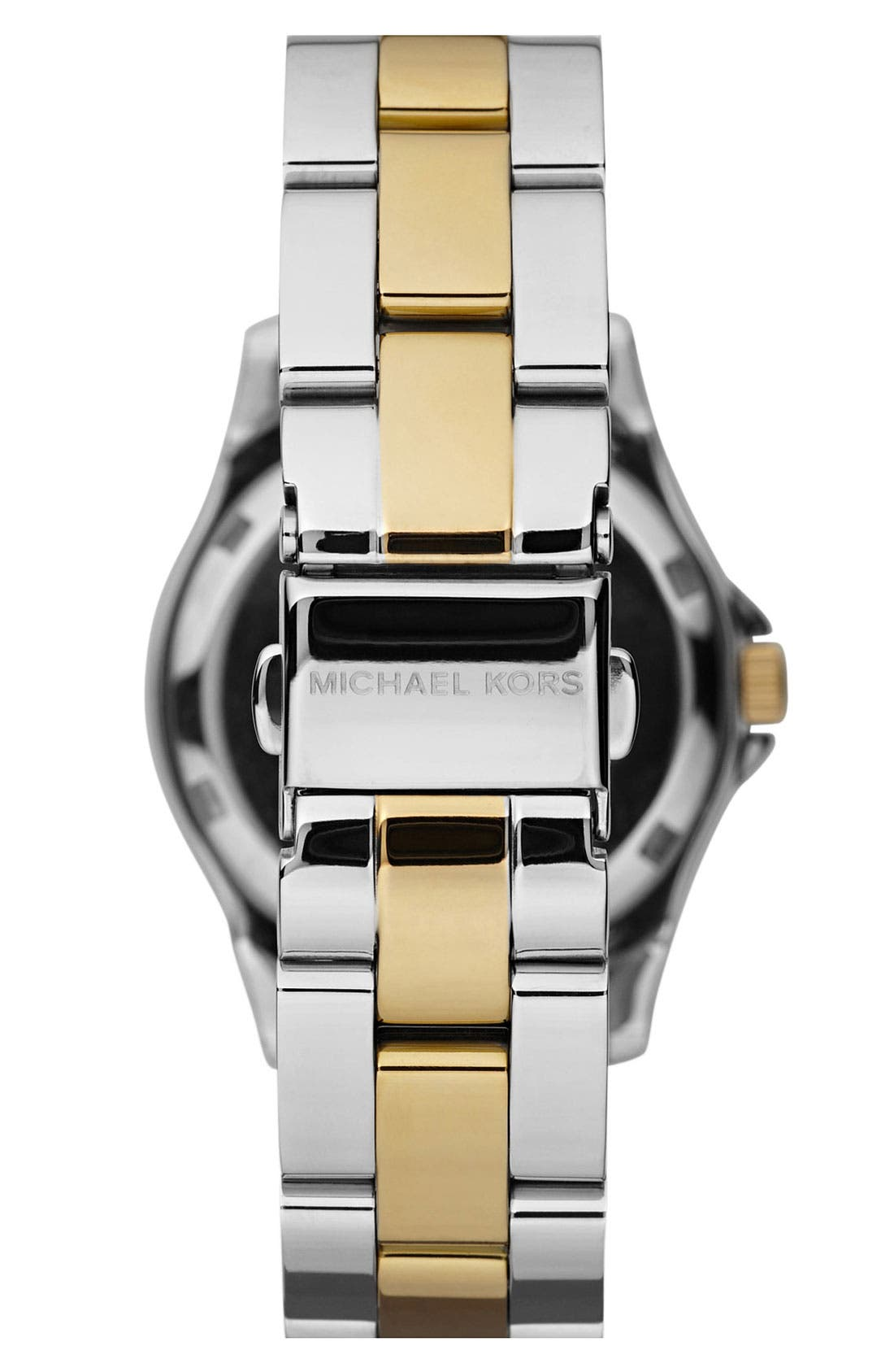 Alternate Image 2  - Michael Kors 'Mini Madison' Twin Row Crystal Watch, 33mm