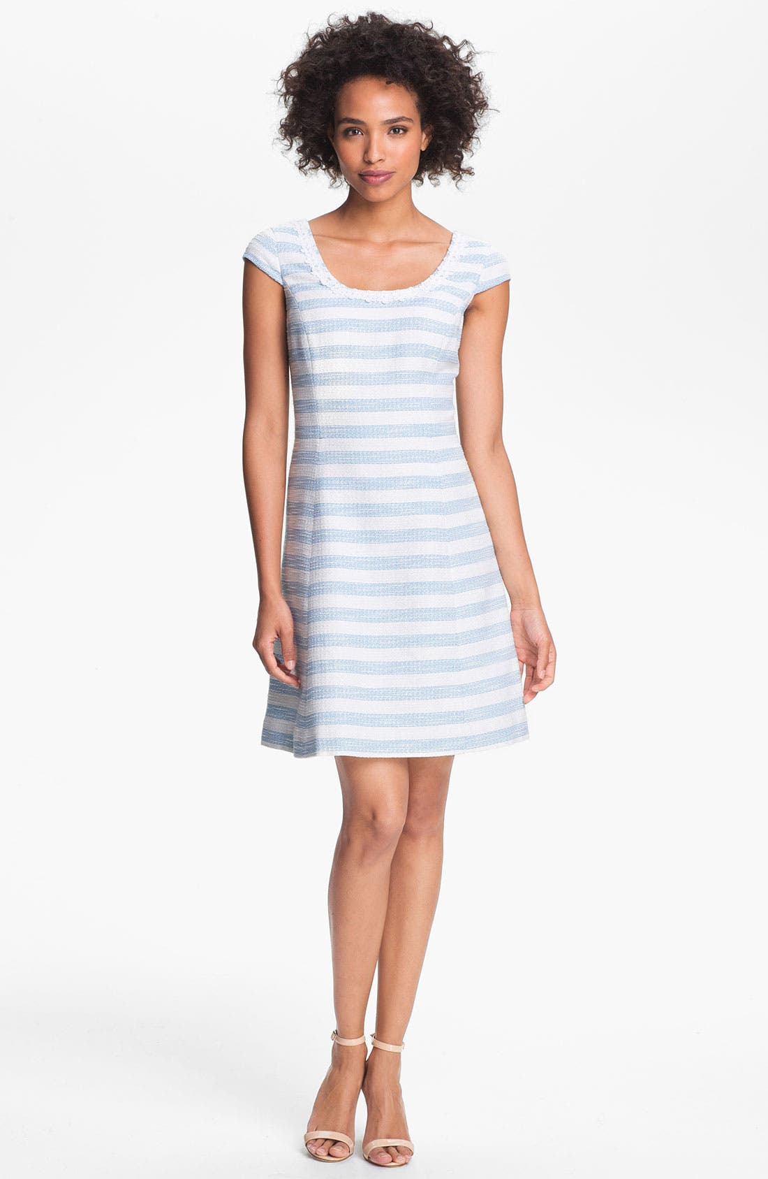 Main Image - Lilly Pulitzer® 'Rylan' Textured Stripe A-Line Dress