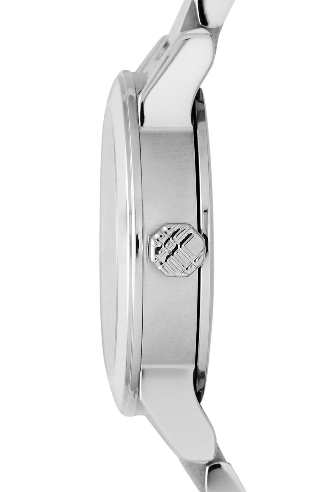 Alternate Image 2  - Burberry Small Diamond Dial Bracelet Watch, 26mm