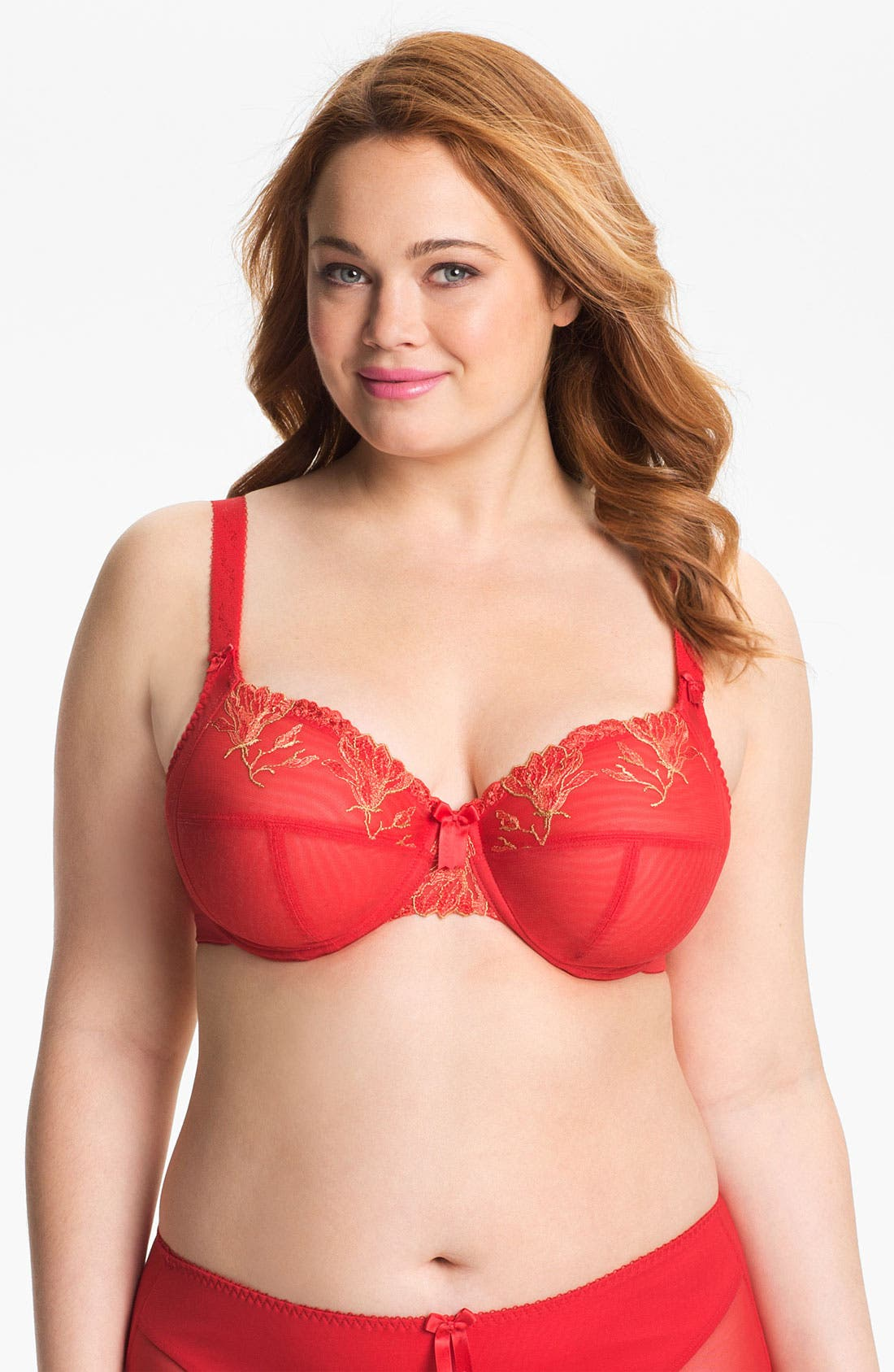 Alternate Image 1 Selected - Elomi 'Maggie' Underwire Bra (Plus Size)