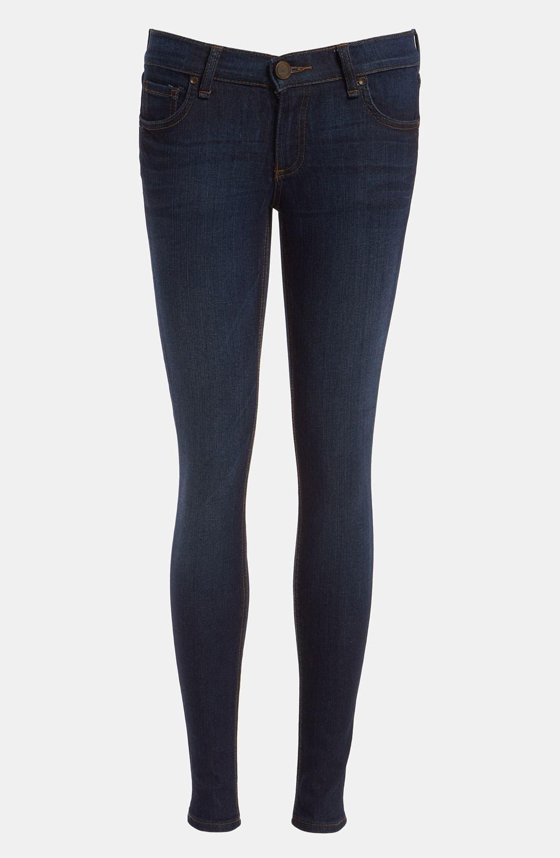 Alternate Image 1 Selected - edyson 'Sloan' Skinny Jeans (Dark Atlantic)
