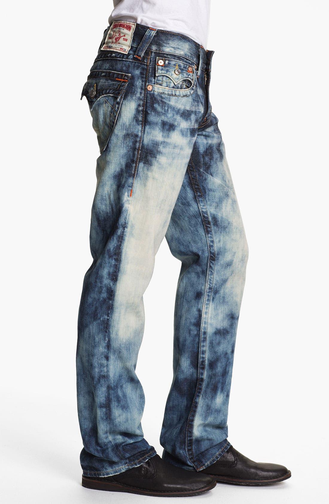 Alternate Image 3  - True Religion Brand Jeans 'Ricky' Straight Leg Jeans (Antelope)