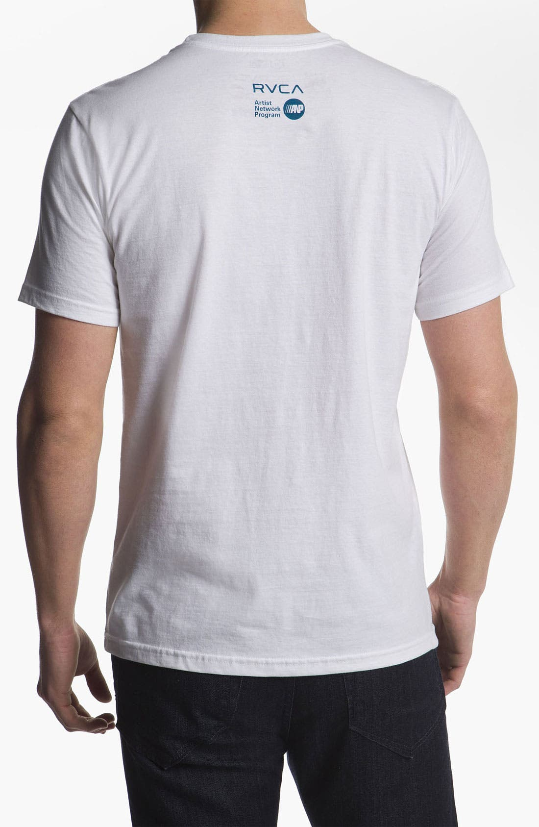 Alternate Image 2  - RVCA 'Hand Study' T-Shirt