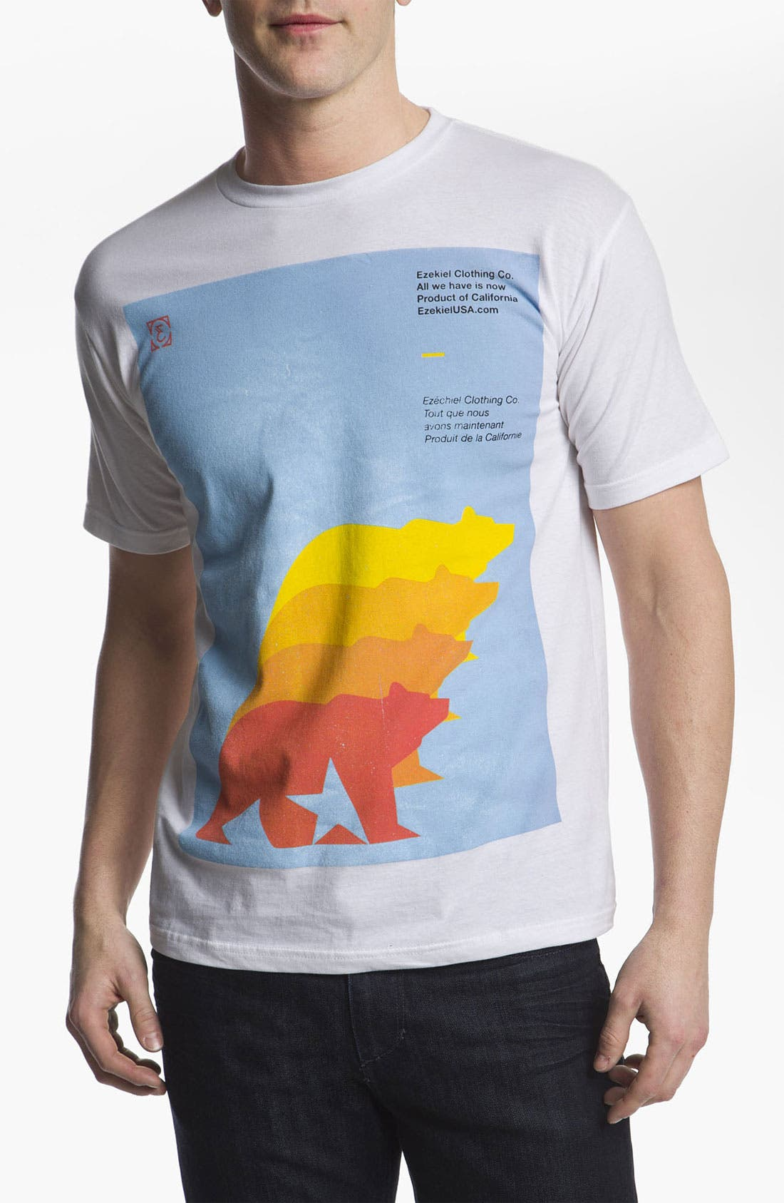 Alternate Image 1 Selected - Ezekiel 'Duplicity' T-Shirt