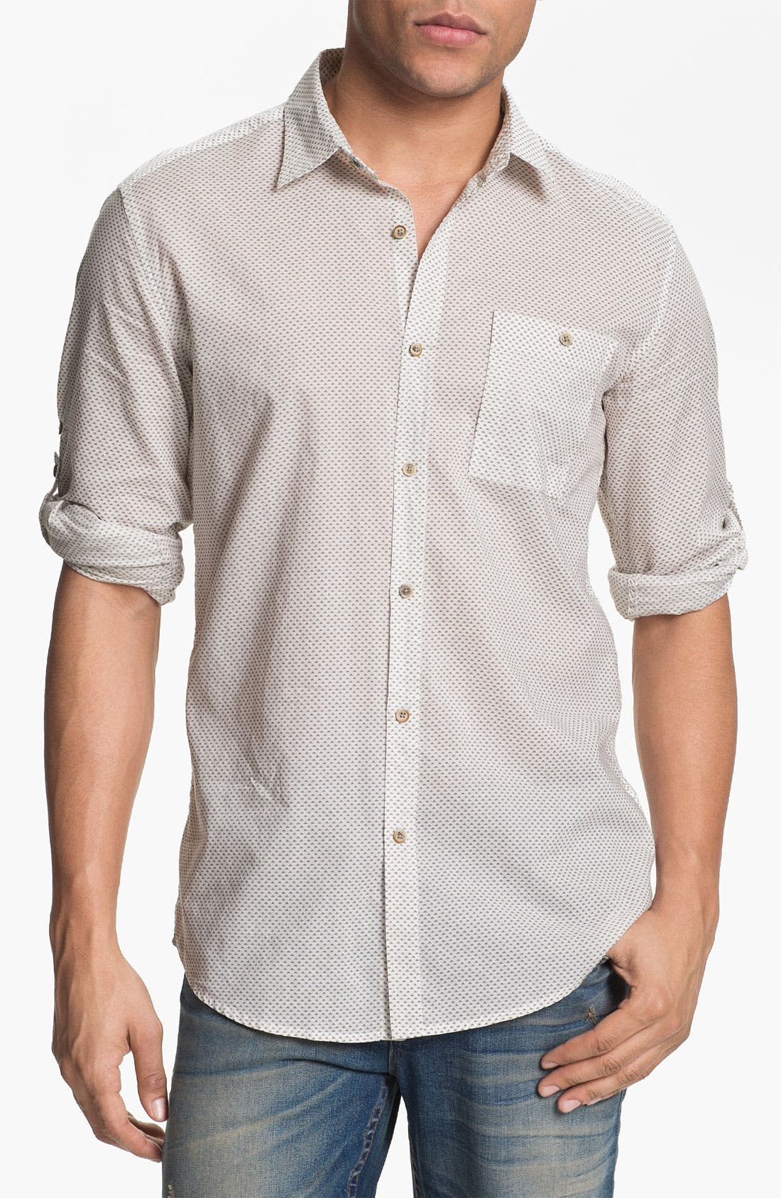 Alternate Image 1 Selected - Antony Morato Woven Shirt