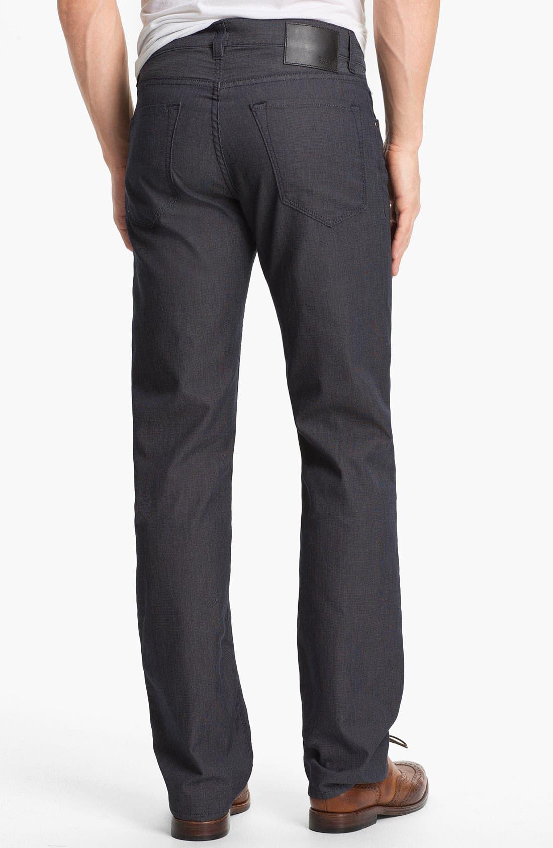 Alternate Image 2  - BOSS HUGO BOSS 'Maine' Straight Leg Five Pocket Pants