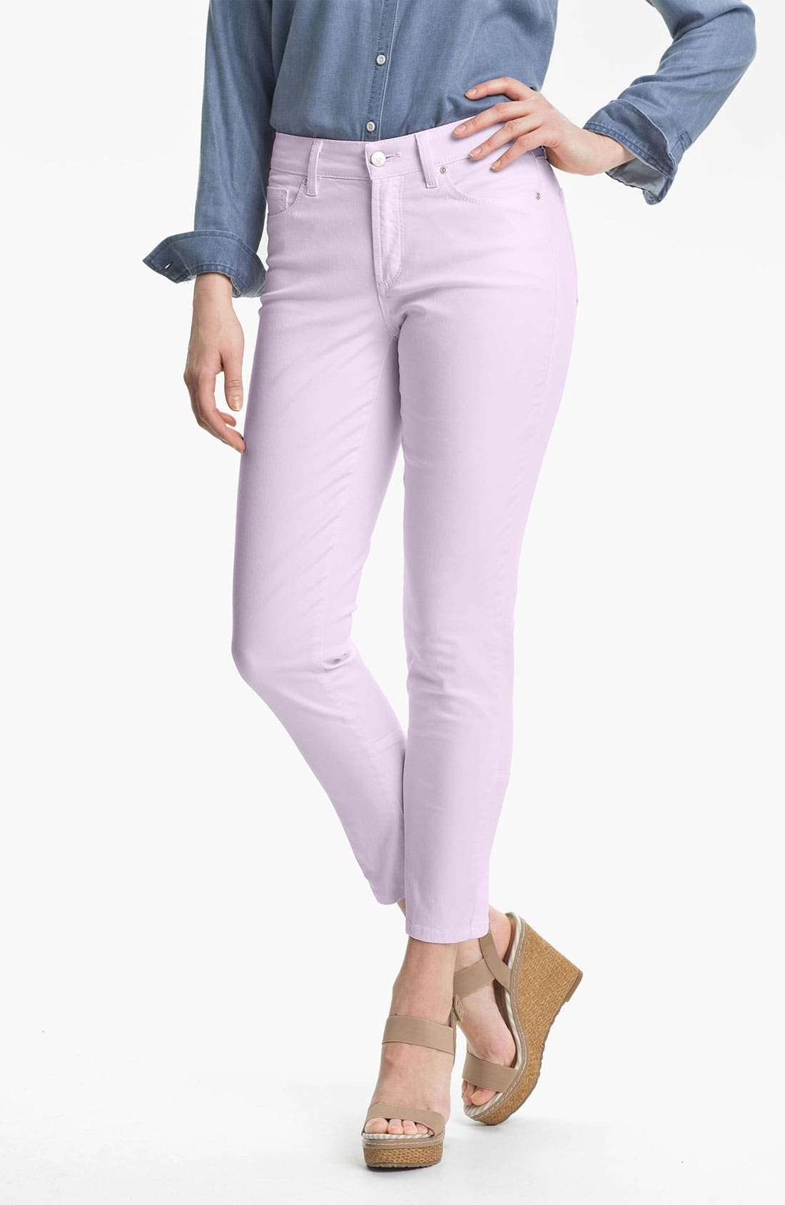 Alternate Image 1 Selected - NYDJ 'Jill' Fitted Ankle Jeans