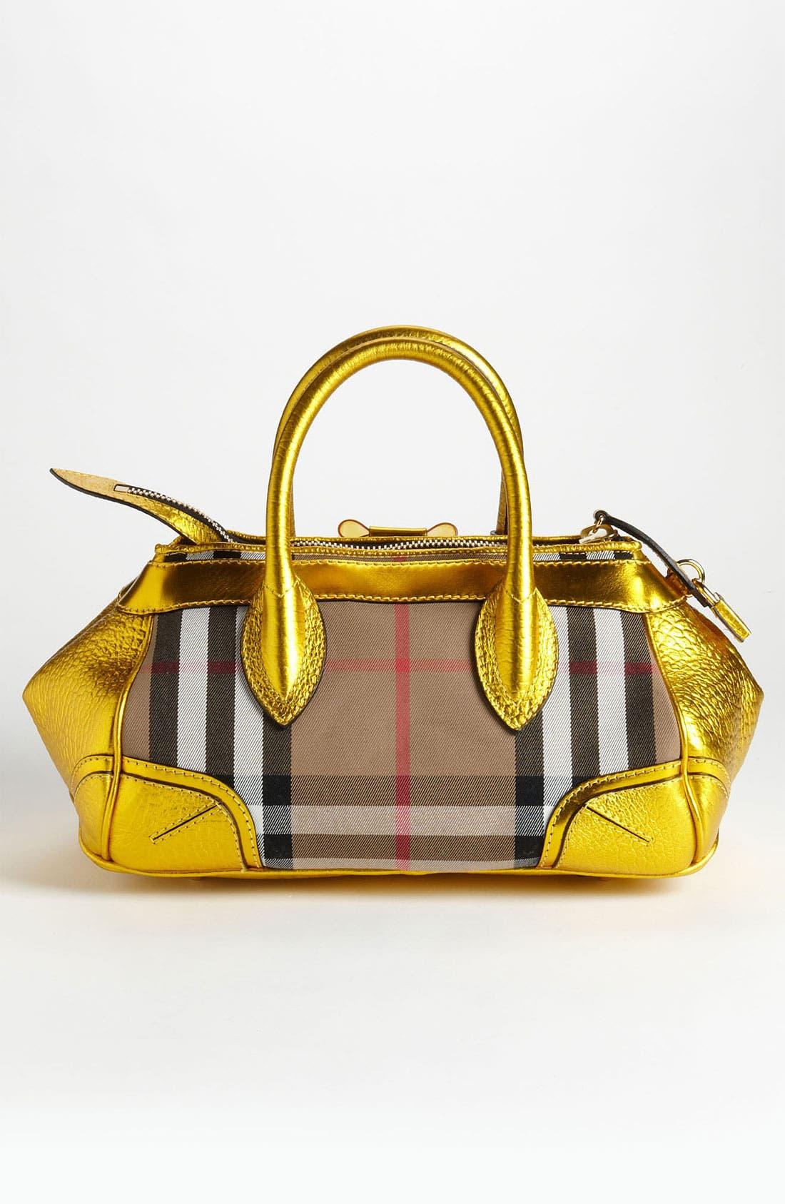 Alternate Image 4  - Burberry Prorsum 'Blaze' House Check Handbag