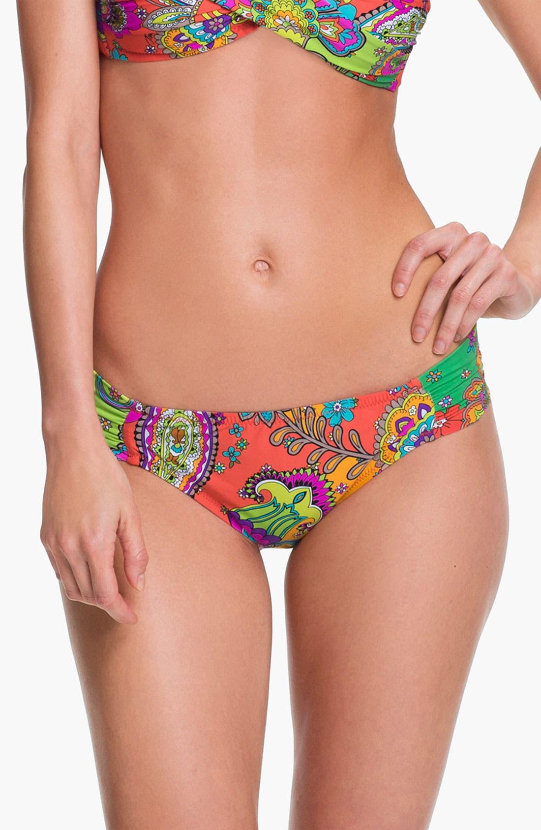 Alternate Image 1 Selected - Trina Turk 'Summer of Love' Hipster Bikini Bottoms