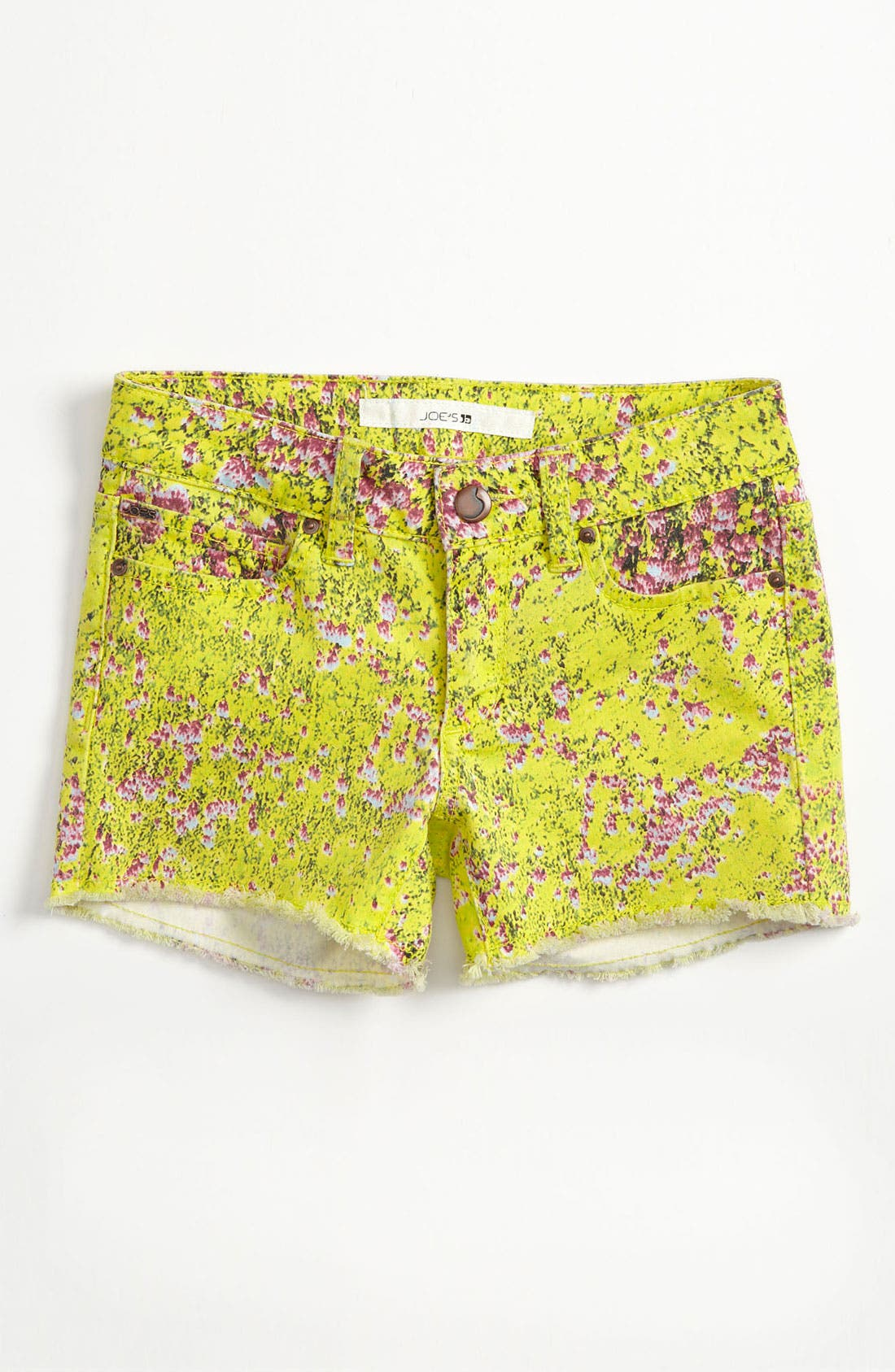 Alternate Image 2  - Joe's Print Shorts (Big Girls)