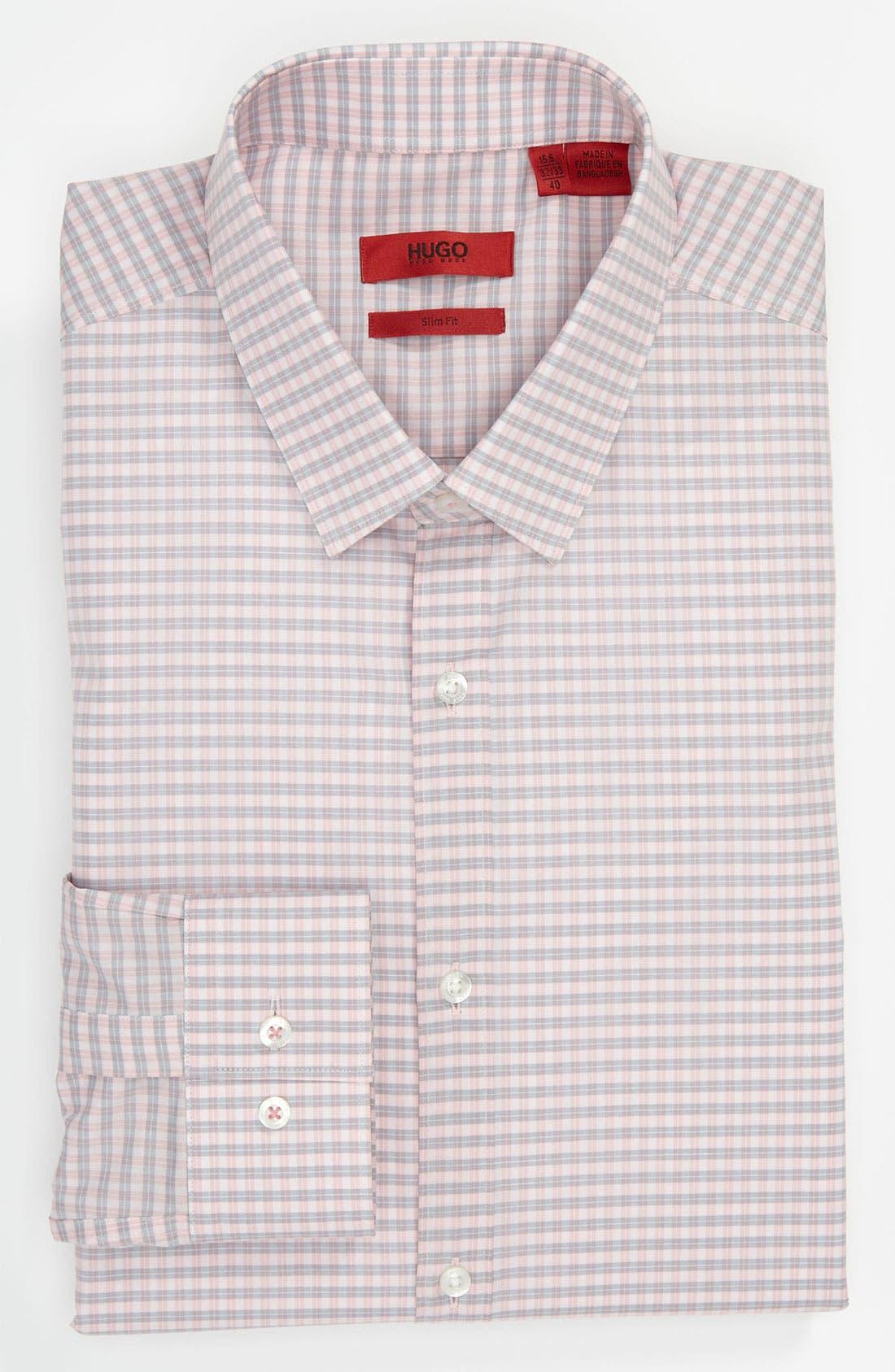 Alternate Image 1 Selected - HUGO Slim Fit Dress Shirt