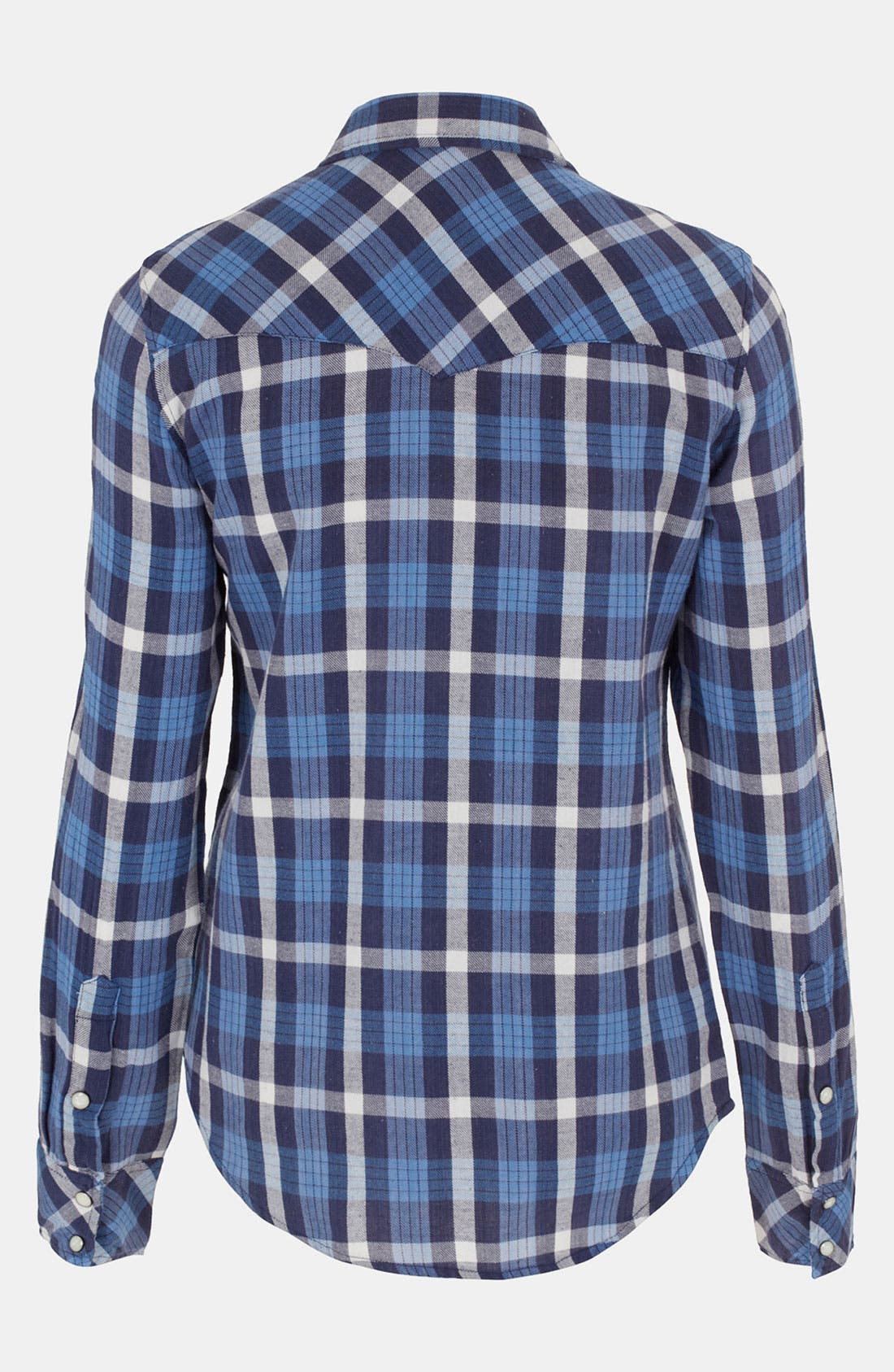 Alternate Image 2  - Topshop 'Atlanta' Plaid Shirt