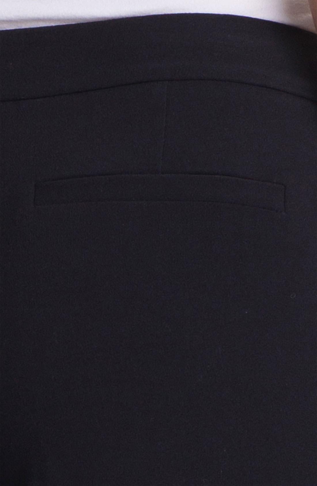 Alternate Image 3  - Isaac Mizrahi New York Stretch Woven Trousers