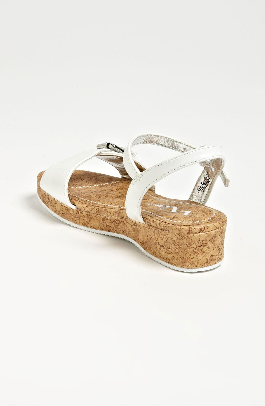 Alternate Image 2  - Nina 'Yuki' Wedge Sandal (Toddler, Little Kid & Big Kid)