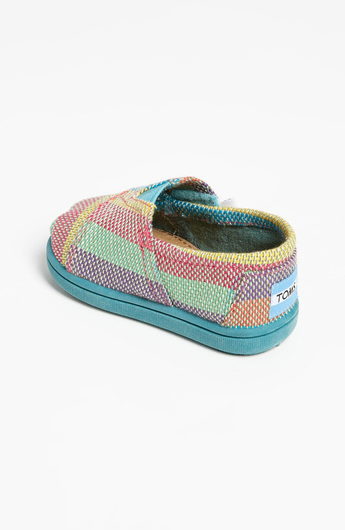 Alternate Image 2  - TOMS 'Classic - Tiny' Plaid Slip-On (Baby, Walker & Toddler)