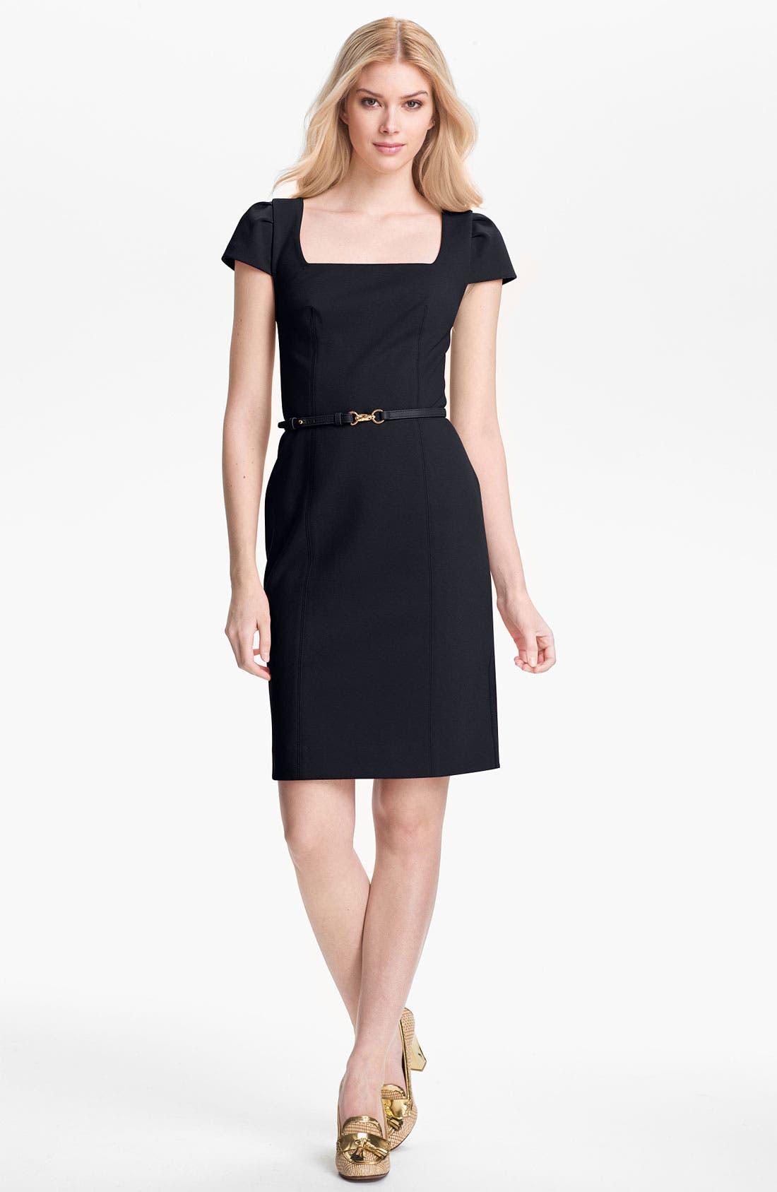 Alternate Image 1 Selected - Tory Burch 'Heather' Stretch Sheath Dress