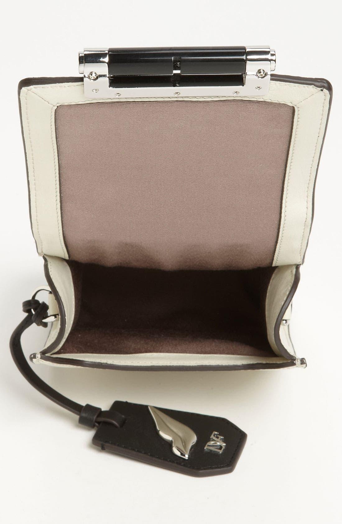 Alternate Image 3  - Diane von Furstenberg 'Parker - Mini' Embossed Crossbody Bag