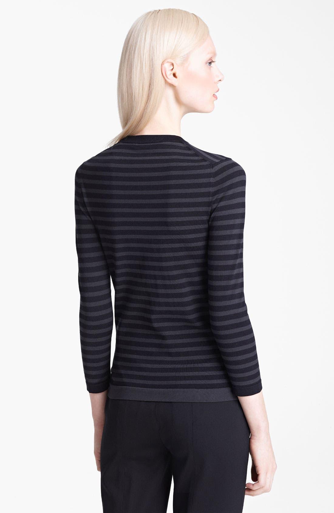 Alternate Image 2  - Jil Sander Navy Stripe Sweater