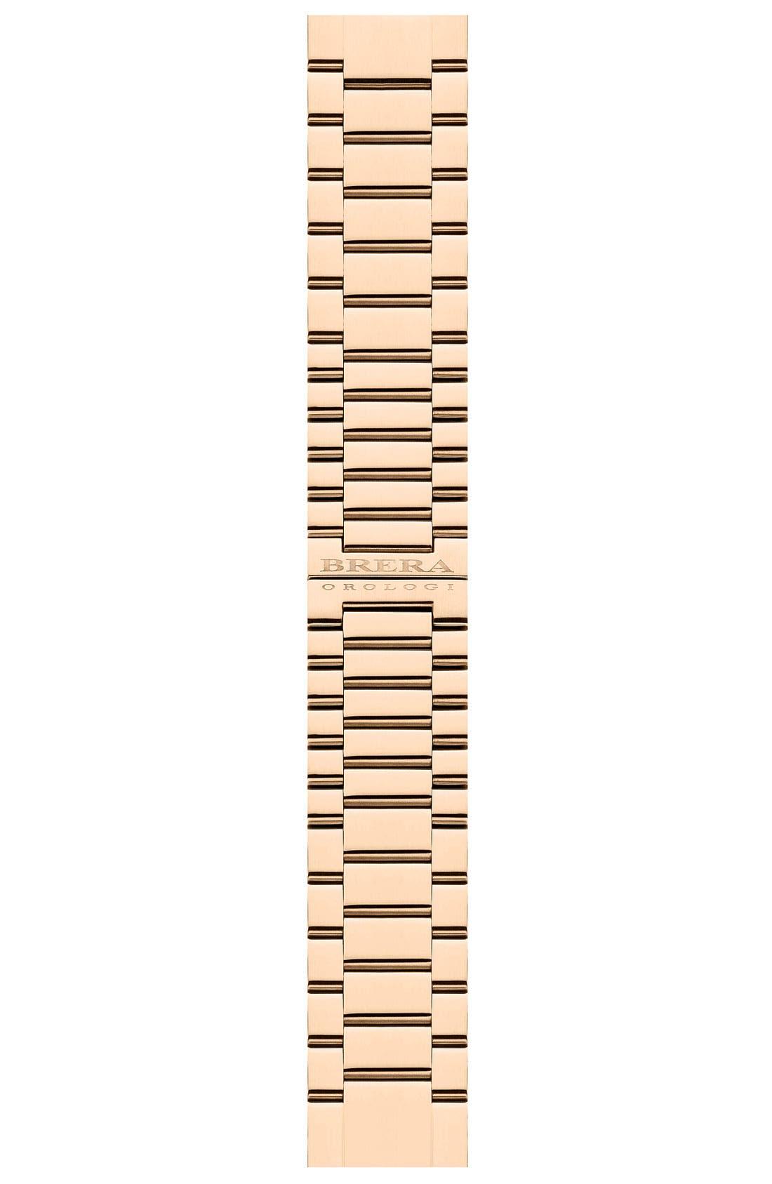 Alternate Image 1 Selected - Brera 'Stella' 22mm Rose Gold Watch Bracelet