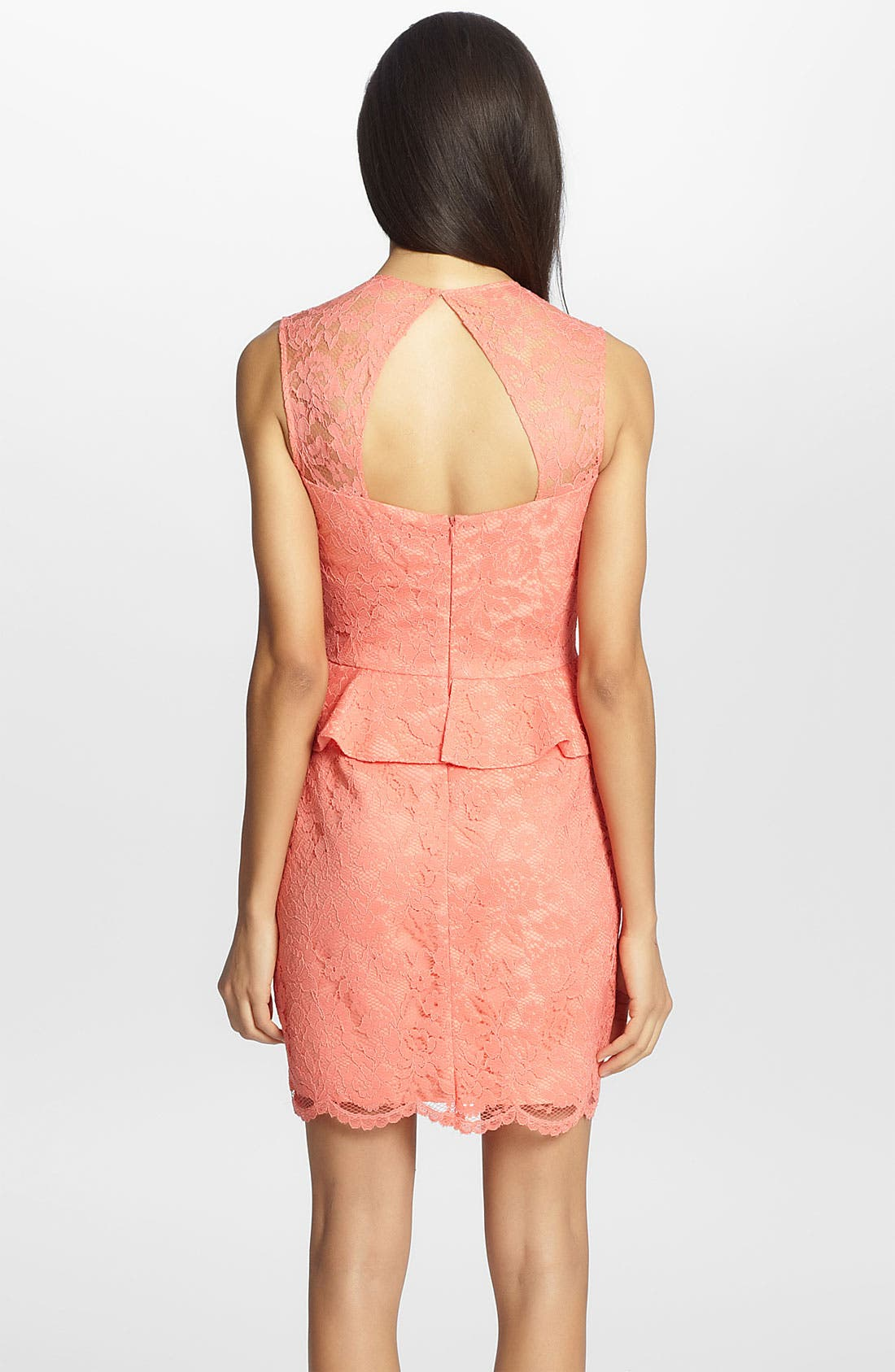 Alternate Image 2  - Cynthia Steffe 'Jean' Lace Sheath Dress
