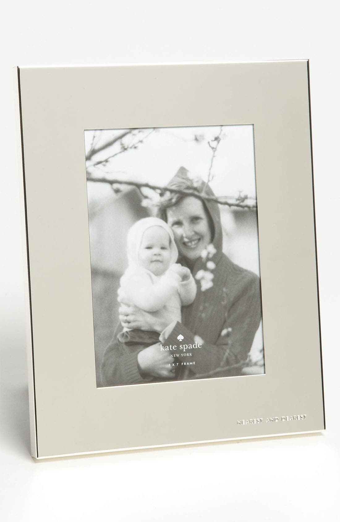 Main Image - kate spade new york 'picture perfect™ - nearest and dearest' picture frame (5x7)
