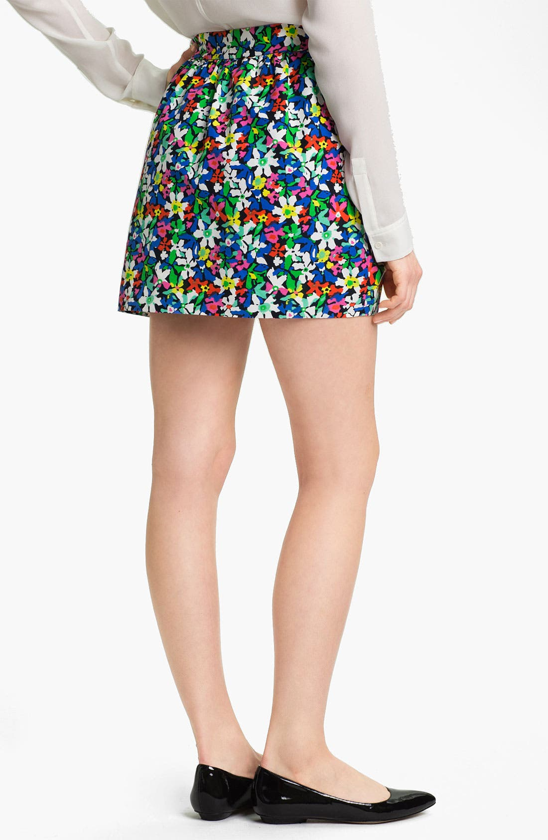 Alternate Image 2  - kate spade new york 'henrita' print skirt
