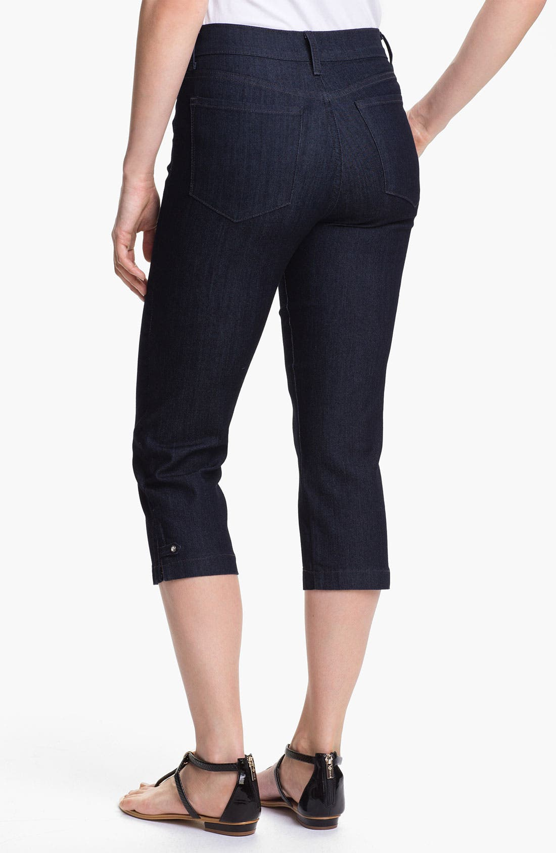 Alternate Image 2  - NYDJ 'Winona' Crop Stretch Jeans