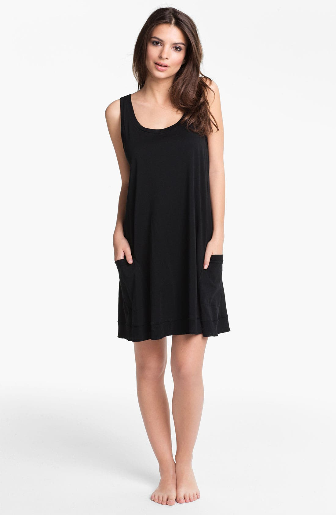 Main Image - Donna Karan 'Casual Luxe' Sleep Shirt