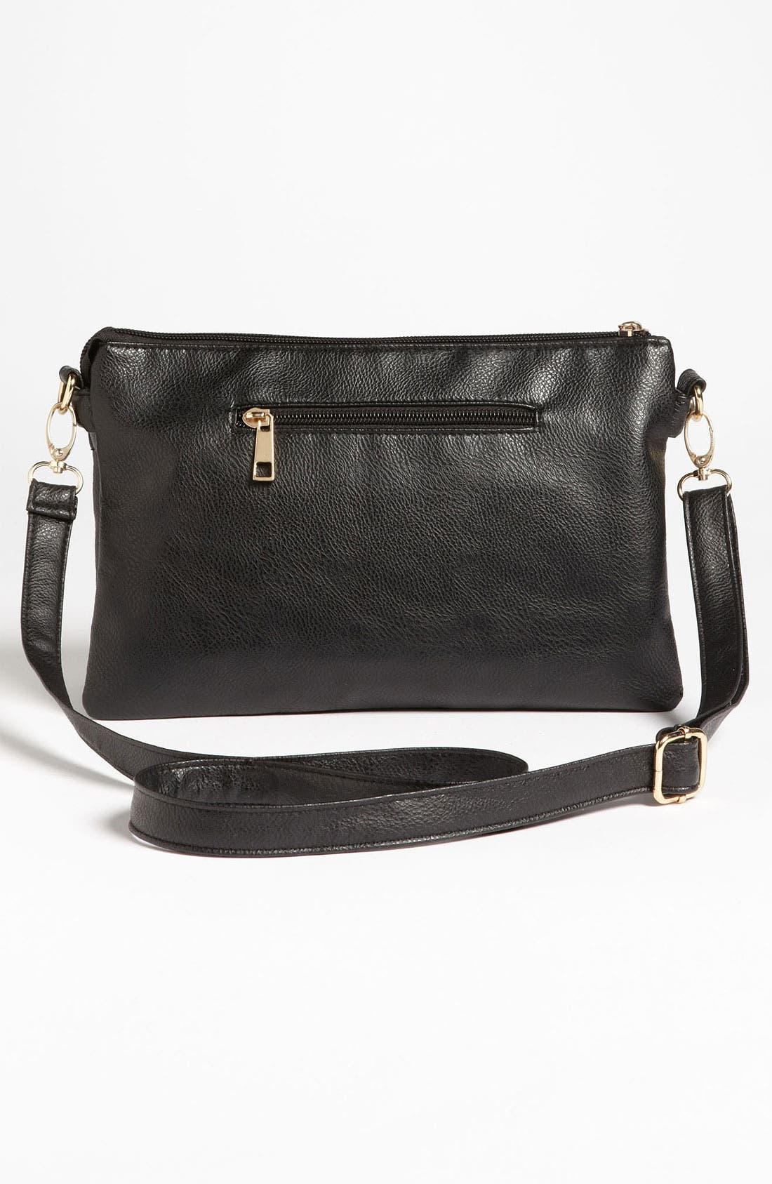 Alternate Image 4  - Top Choice Studded Faux Leather Crossbody Clutch