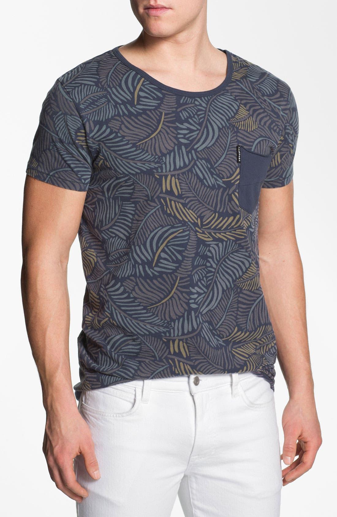 Main Image - Zanerobe 'Poleho' Allover Print Pocket T-Shirt