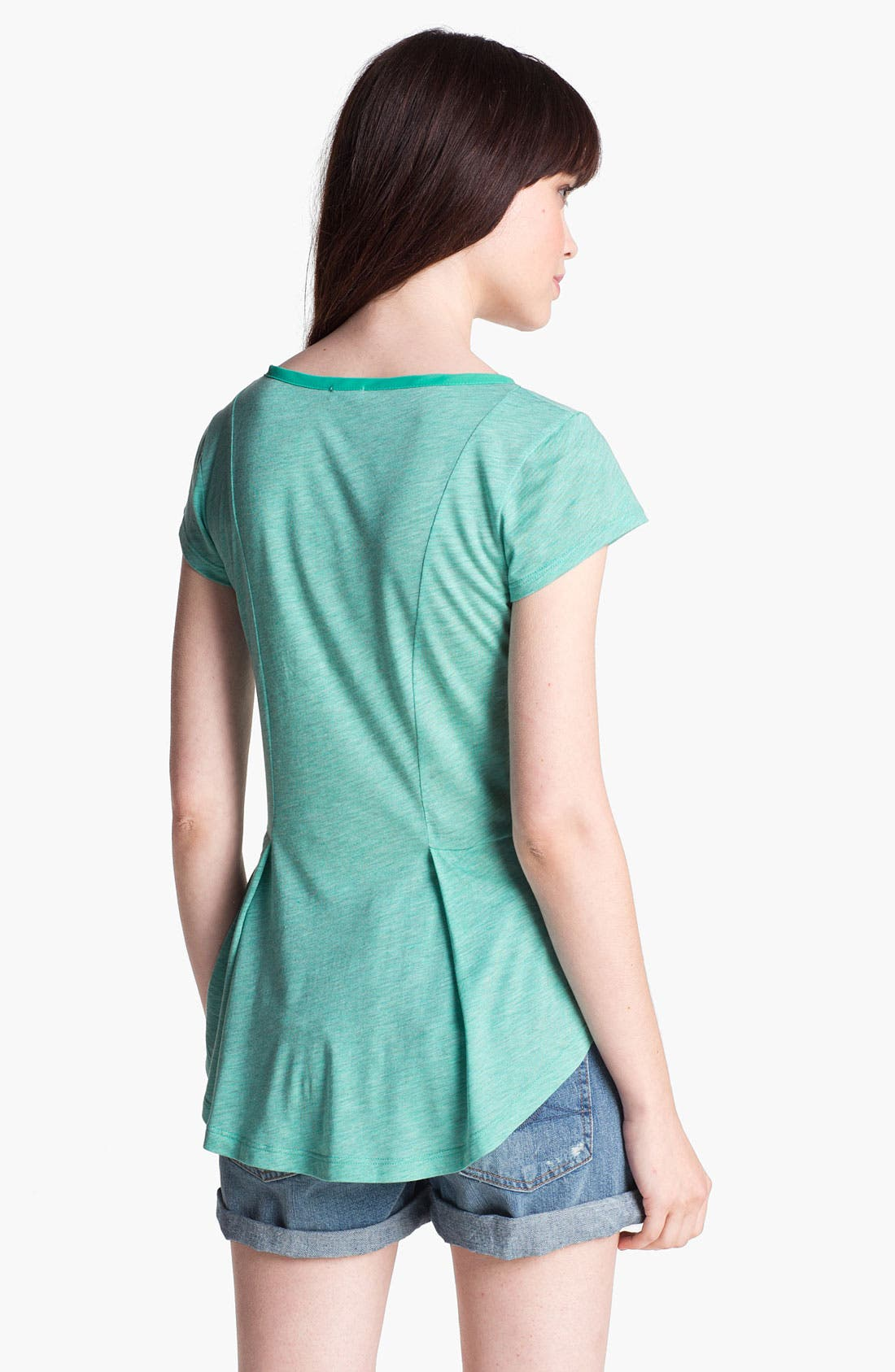 Alternate Image 2  - Splendid 'Eiffel' Peplum Tee