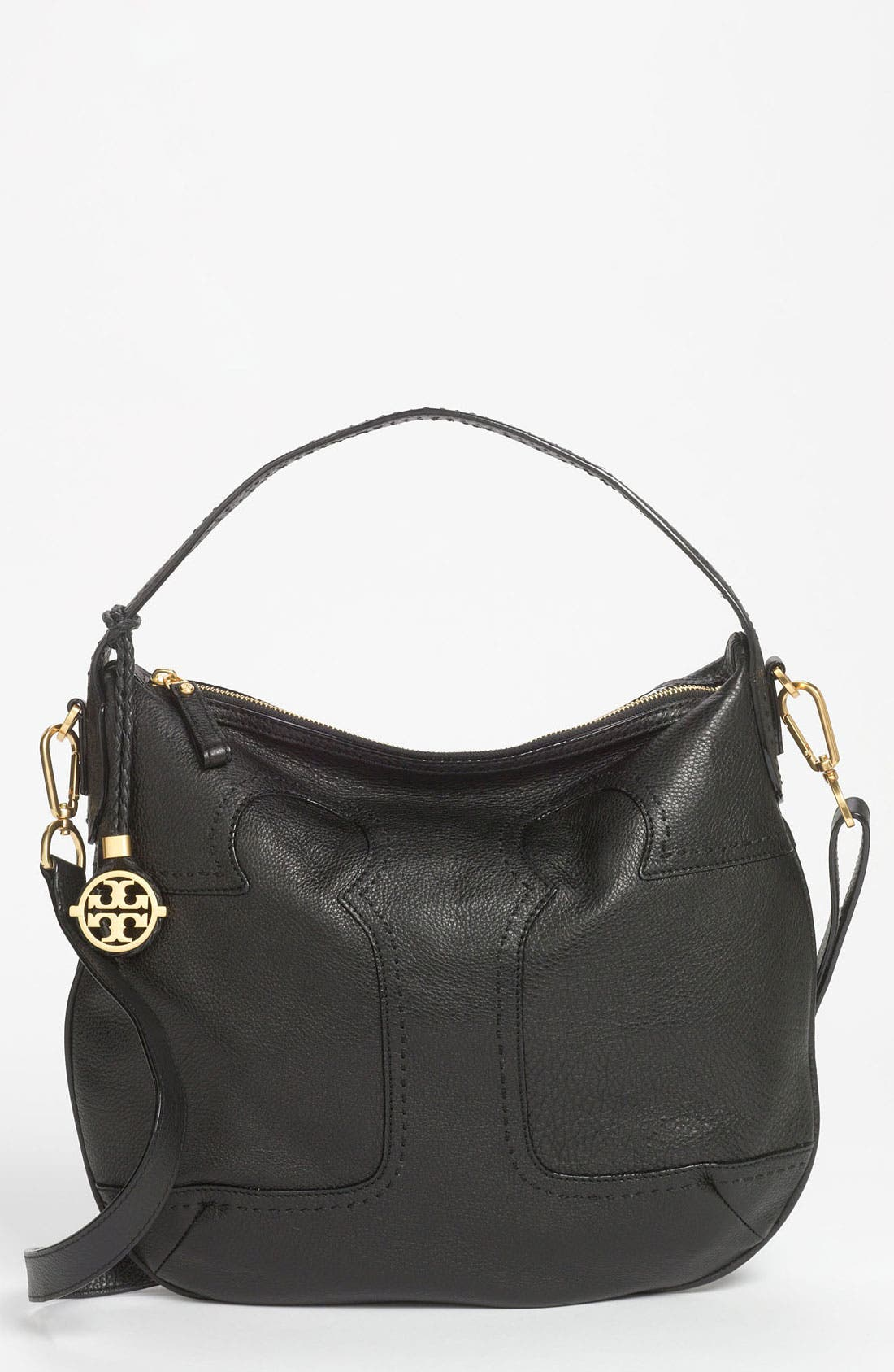 Main Image - Tory Burch 'Amalie' Leather Hobo