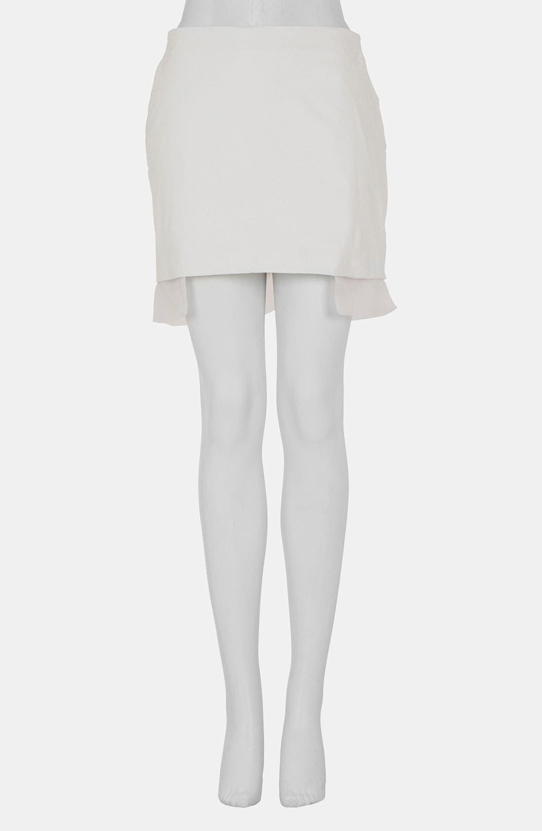 Alternate Image 3  - Topshop Unique Leather Skirt