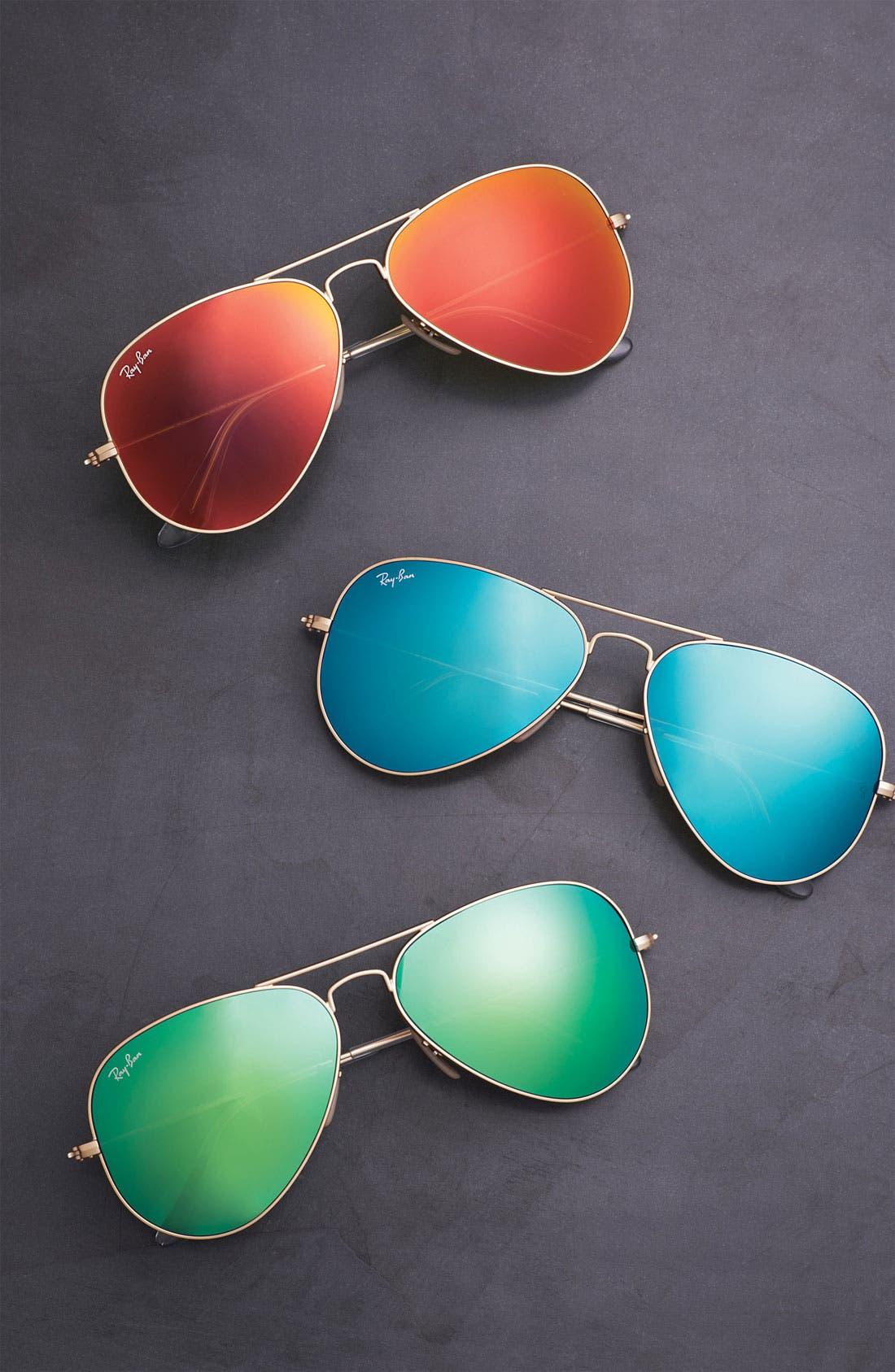Original Aviator 58mm Sunglasses,                             Alternate thumbnail 2, color,