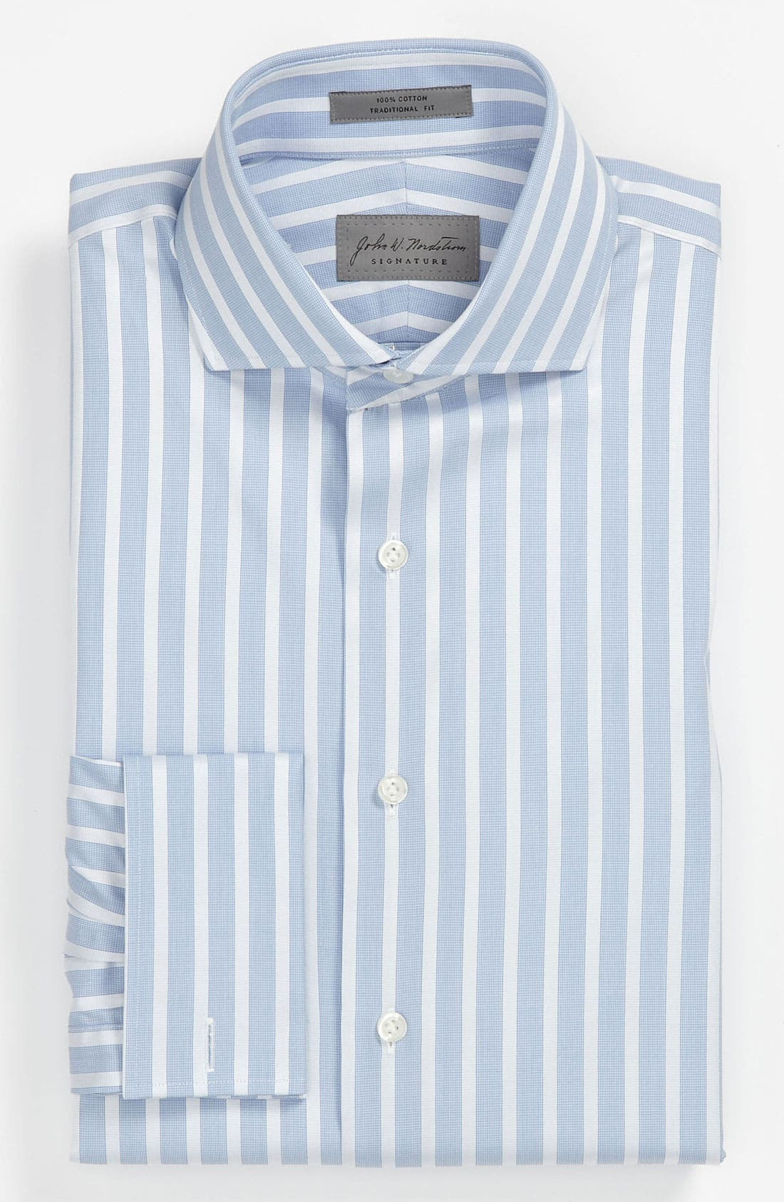 Alternate Image 1 Selected - John W. Nordstrom Signature Traditional Fit Dress Shirt